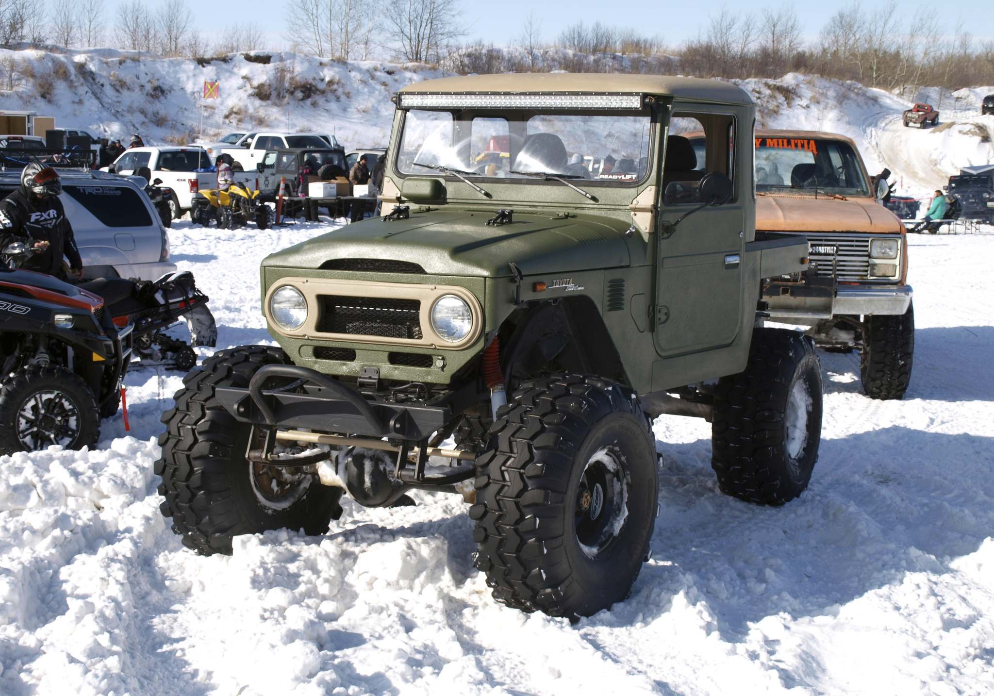 Willy Williamson / Winnipeg Free PressOff-road rigs of all shapes and sizes will be hitting the trails near Seddons Corner tomorrow for the Manitoba Winter Mega Run.