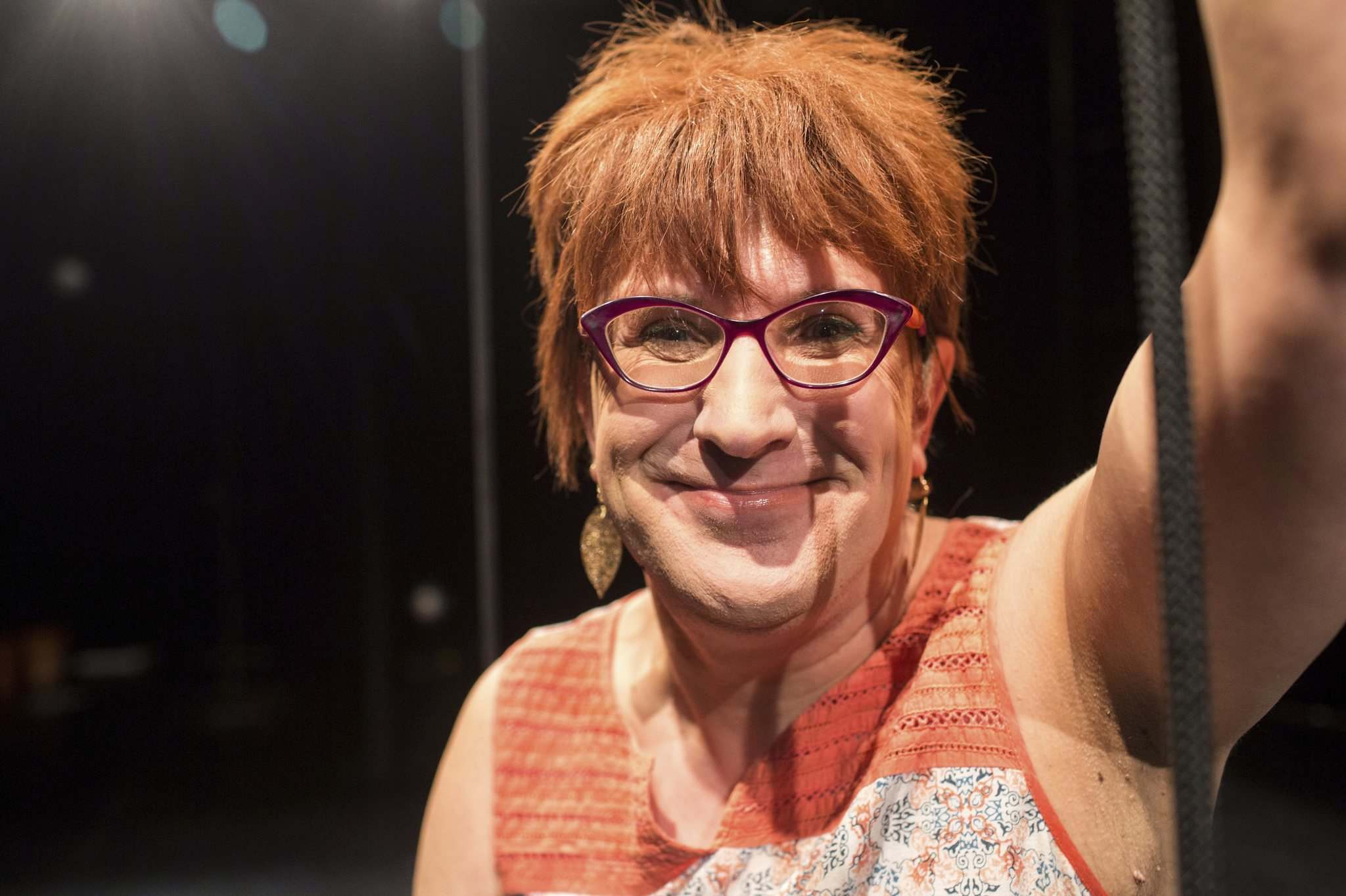"""The centrepiece theme of the play is what Rae calls a half-century """"gender odyssey,"""" which culminated in early 2015 with the process of gender transition. (Mikaela MacKenzie / Winnipeg Free Press)</p>"""