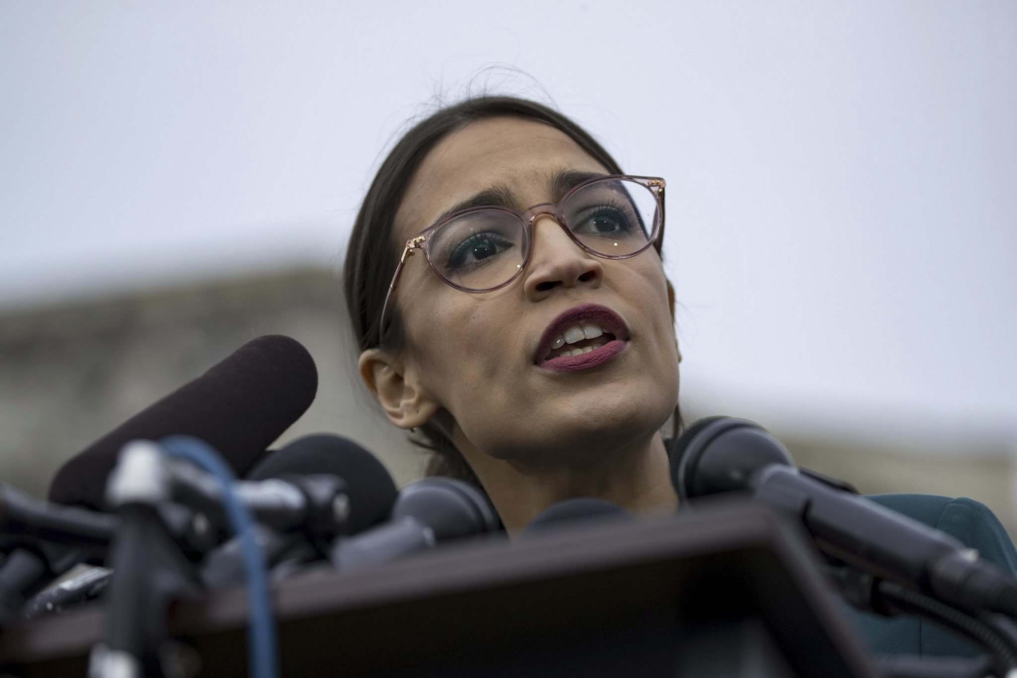 Alex Edelman / / Zuma Press FILES</p><p>Rookie Democrat Rep. Alexandria Ocasio-Cortez has drawn both praise and scorn for her proposed Green New Deal, which aims to help combat climate change.</p>