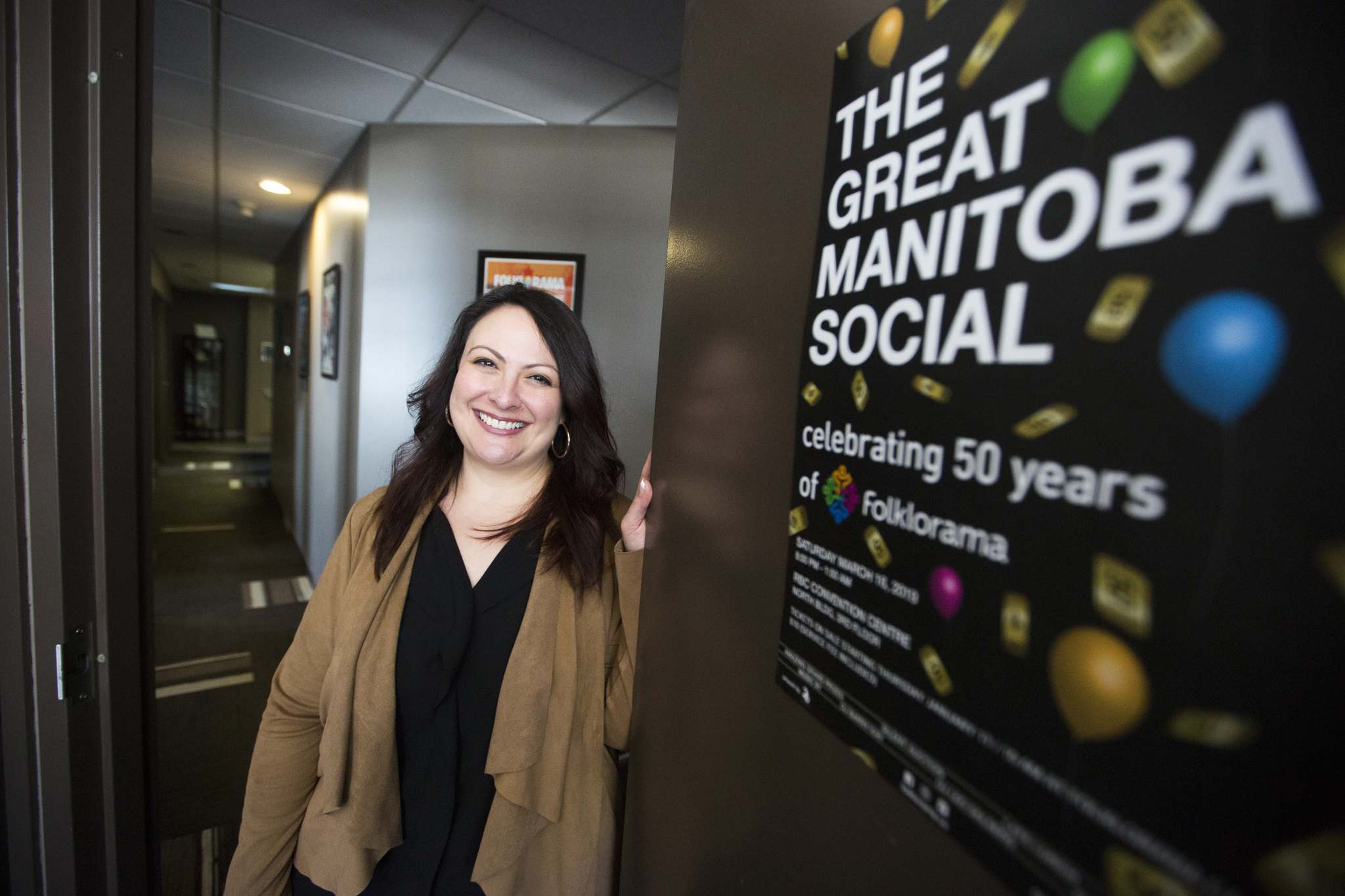 Teresa Cotroneo, Folklorama's executive director, said the social idea was hatched as an accessible way to bring everyone together. (Mikaela Mackenzie / Winnipeg Free Press)