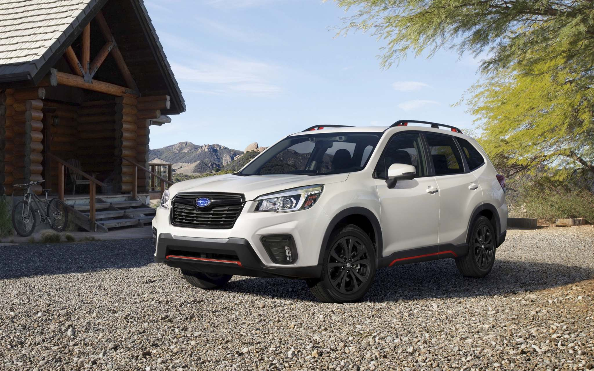 SubaruThe 2019 model of the Subaru Forester is built on the Subaru Global Platform, which underpins the Impreza and Crosstrek.