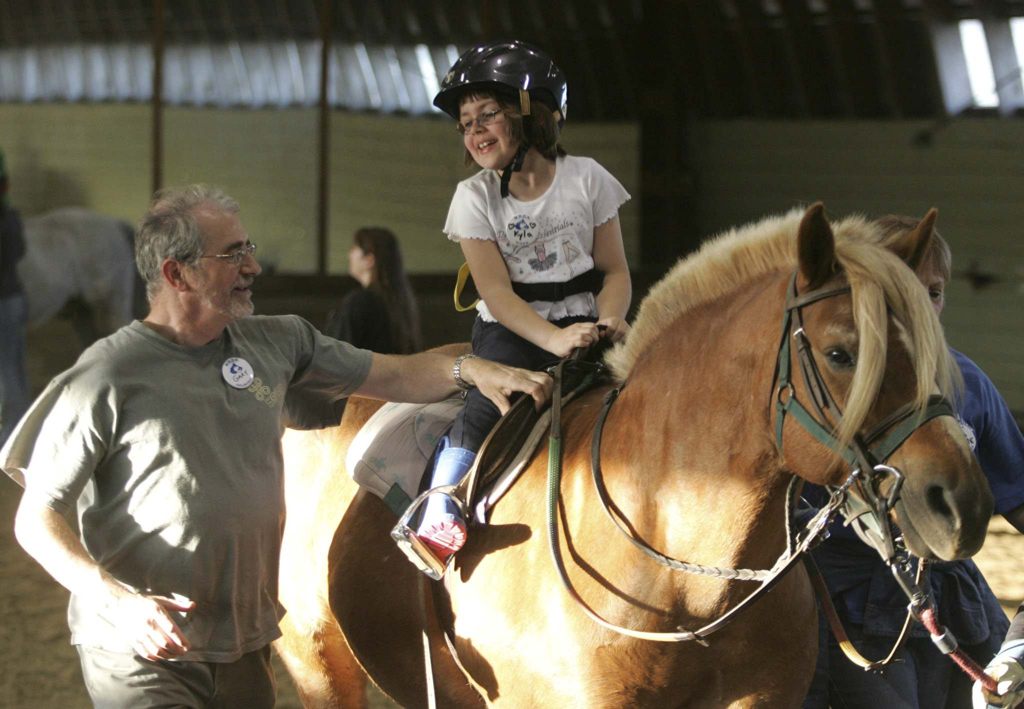 Horseback riding is &#39;an incredible activity&#39; for children and adults living with any disability or challenge, chairwoman Darraugh McMichael said. (Boris Minkevich / Free Press files)</p></p>
