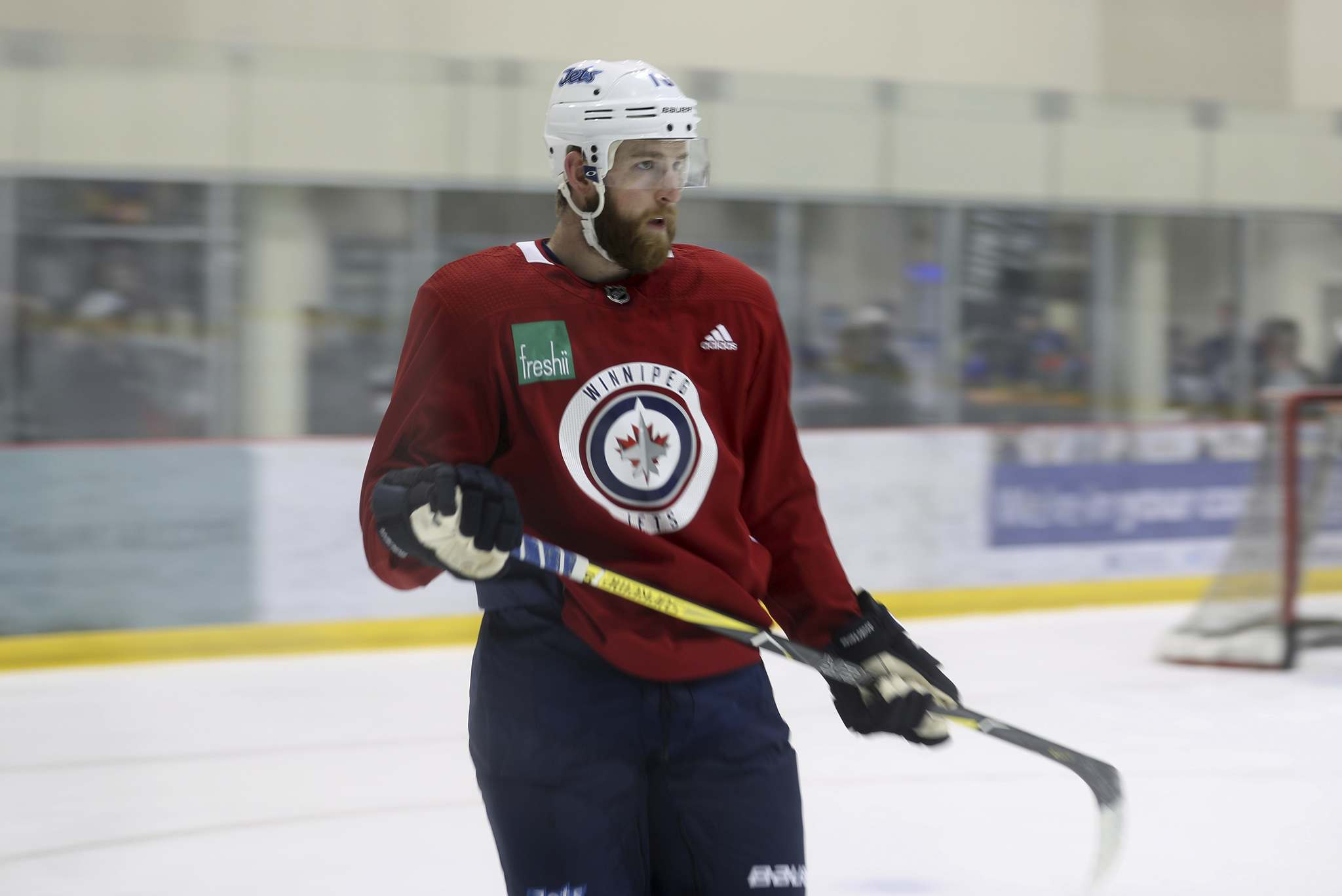Joe Morrow will be paired with Jacob Trouba against the struggling Ducks. (Trevor Hagan / Free Press files)</p>