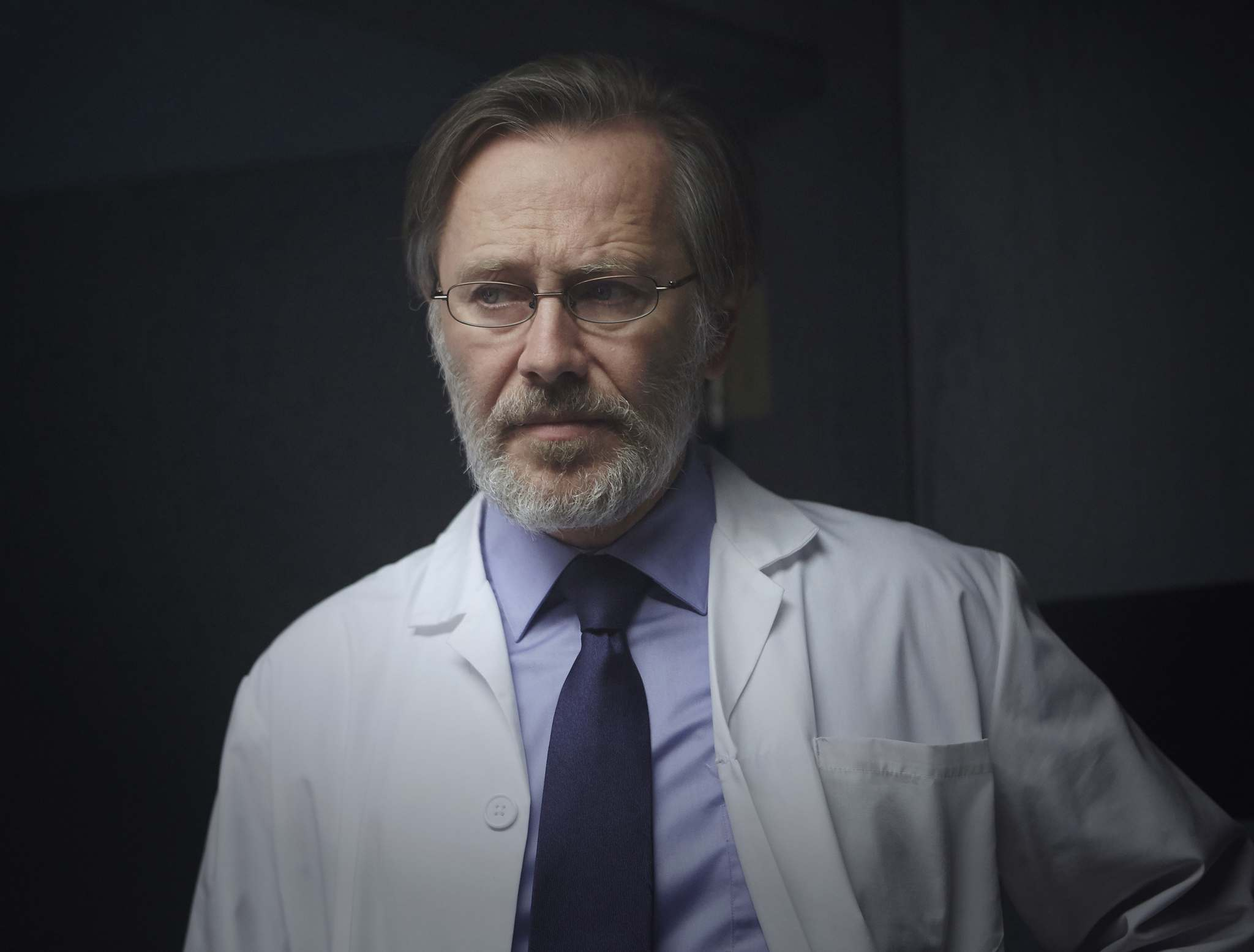 Vestalis Academy is in fact quite fiendish, notwithstanding the charitable claims of the male administrator Dr. Miro (Peter Outerbridge).