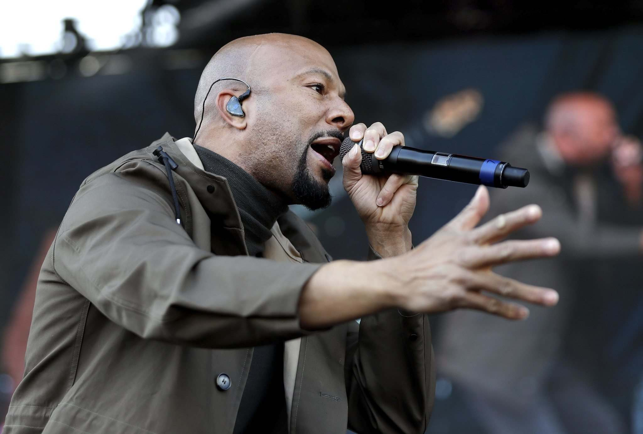 Rapper and actor Common takes the Centennial Concert Hall Stage June 20. (Mark Humphrey / The Associated Press)