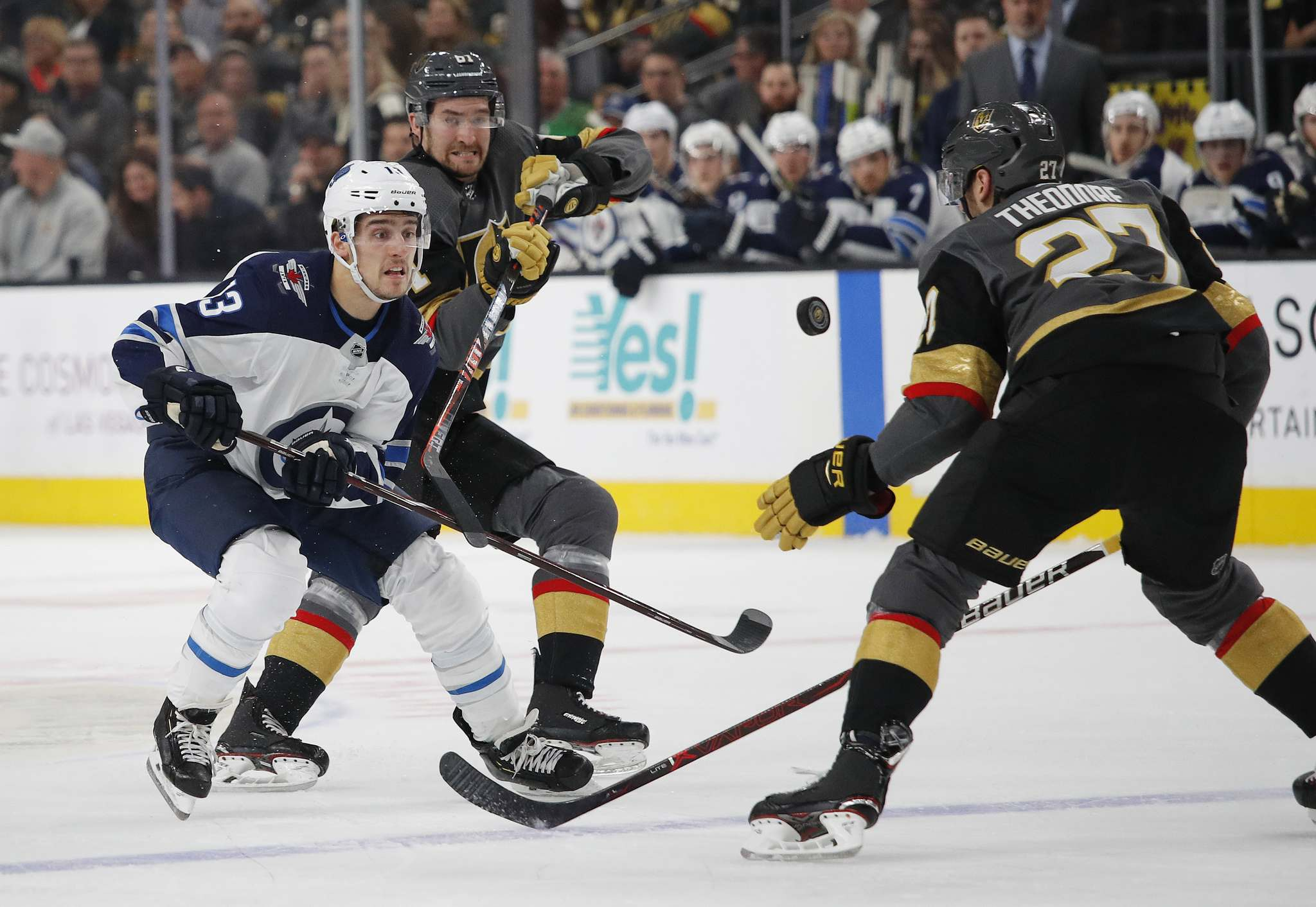 Jets Send Tanev Home With Hand Injury Lindholm Takes Spot Tonight