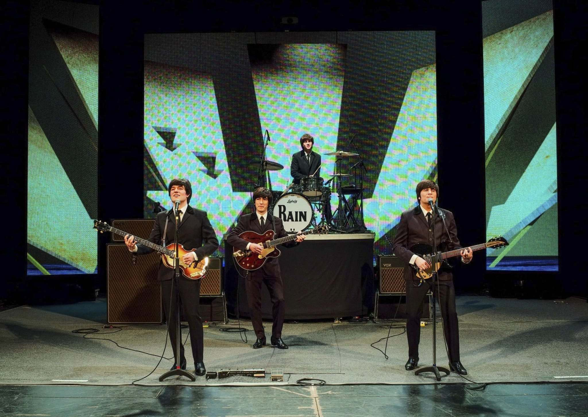 Richard Lovrich photo</p><p>Rain, a Beatles cover band, brings its The Best of Abbey Road show to the Burton Cummings Theatre on Tuesday, April 16.</p>