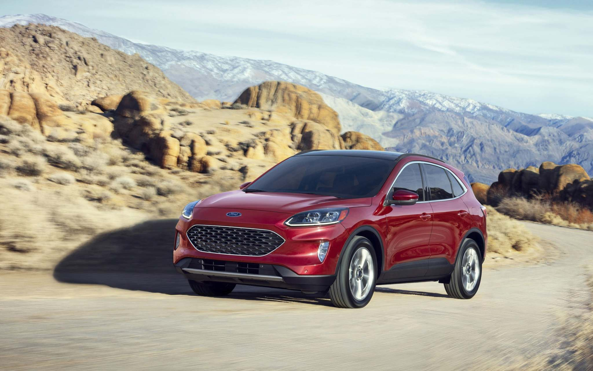 Photos by Ford Motor CompanyThe totally redesigned 2020 Ford Escape comes in front-wheel and all-wheel-drive variants.