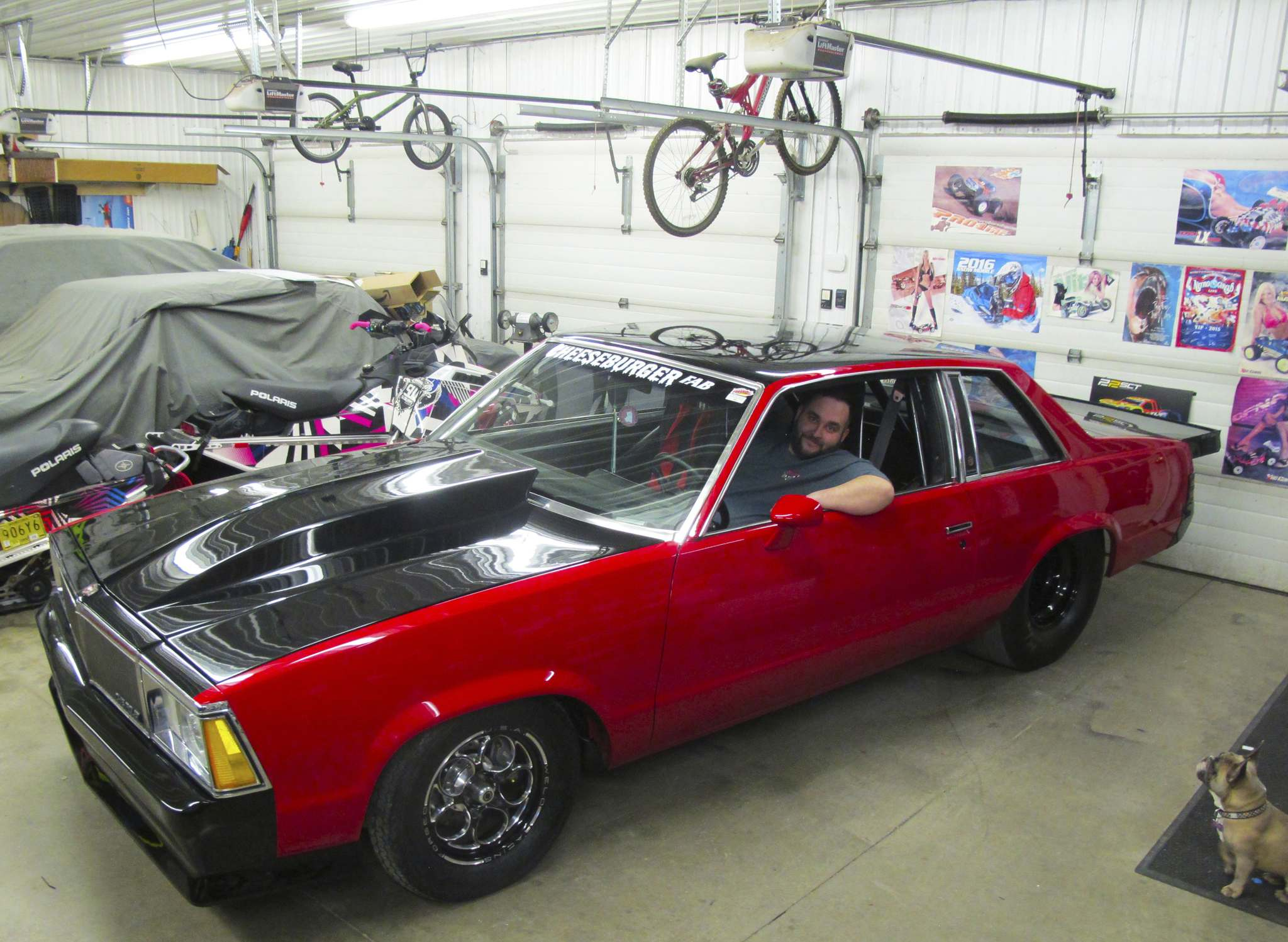 Willy Williamson / Winnipeg Free PressRyan Gobeil's 1980 Chevrolet Malibu has seen several changes over the many years he's owned it — more than two decades now — but this winter, he went all-in to have his prized ride ready for World of Wheels.