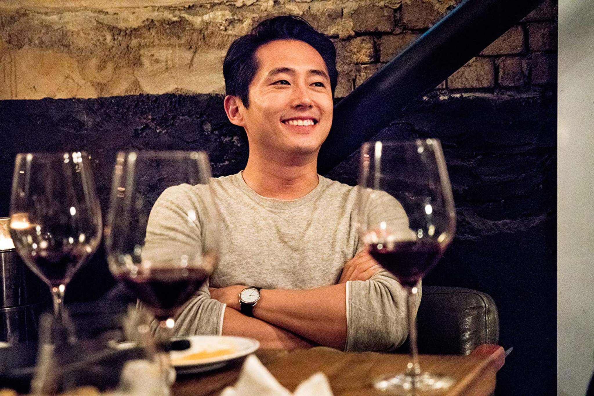 Well Go USA</p><p>Walking Dead actor Steven Yuen plays the polished, polite Ben in Lee Changdong's Burning. </p>