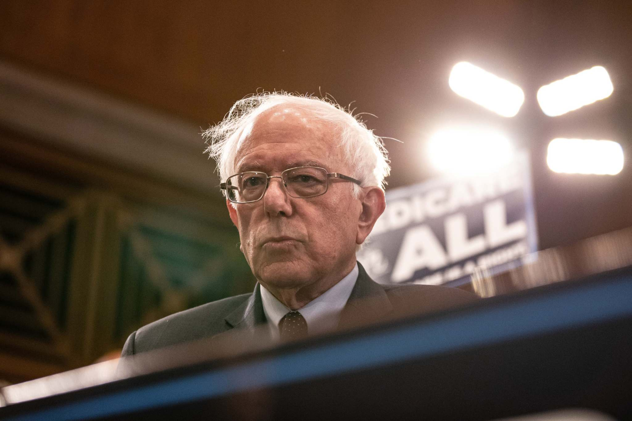 Anna Moneymaker / Bloomberg files</p><p>Supporters of the Democratic presidential nominee Sen. Bernie Sanders say it's Bernie or bust when it comes to how they will cast their vote.</p>