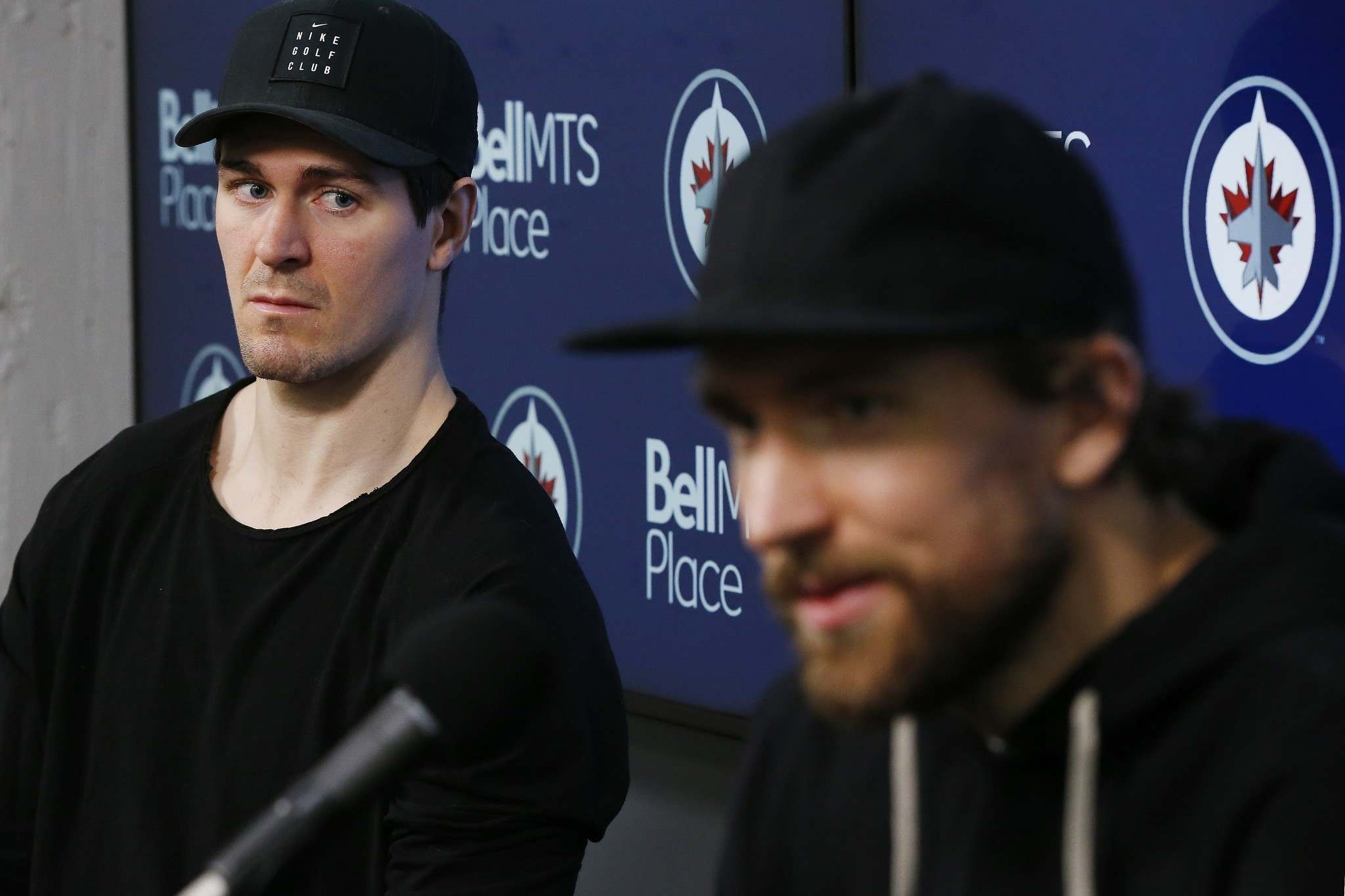 There isn't an area that Scheifele (left) and Wheeler were better at this year than last. (John Woods / Canadian Press files)