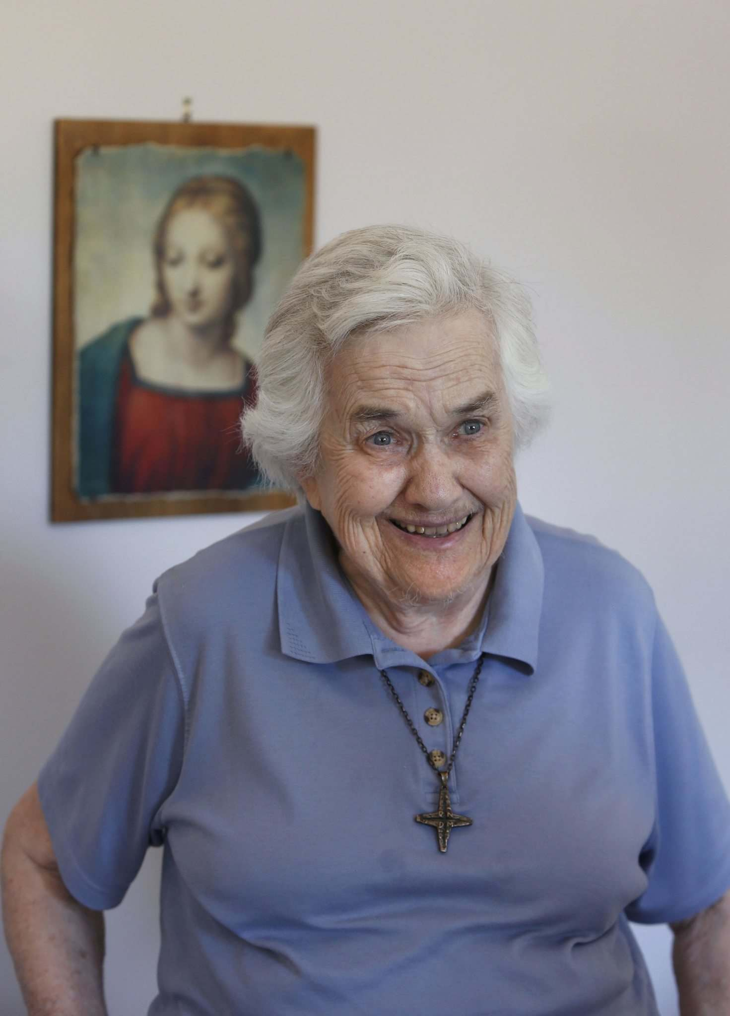 WAYNE GLOWACKI / WINNIPEG FREE PRESS FILES</p><p>Sister Aileen Gleason in her apartment at St. Benedict's Monastery in 2016.</p>
