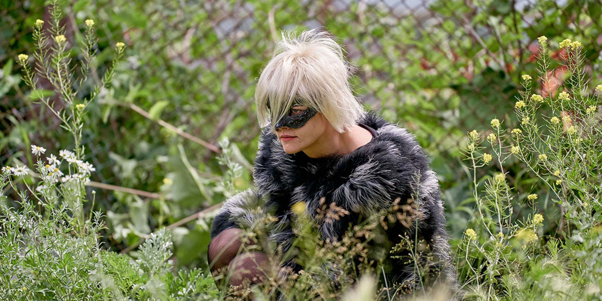 Stewart on the set of JT LeRoy. (Universal Pictures)