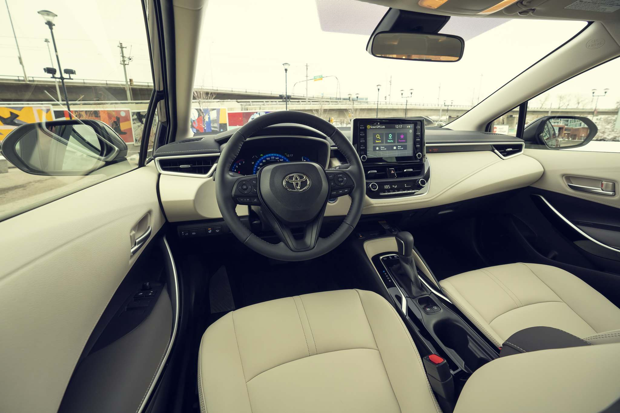 SUPPLIEDThe 2020 Corolla comes with the Toyota Safety Sense 2.0 suite of driver-assist features.