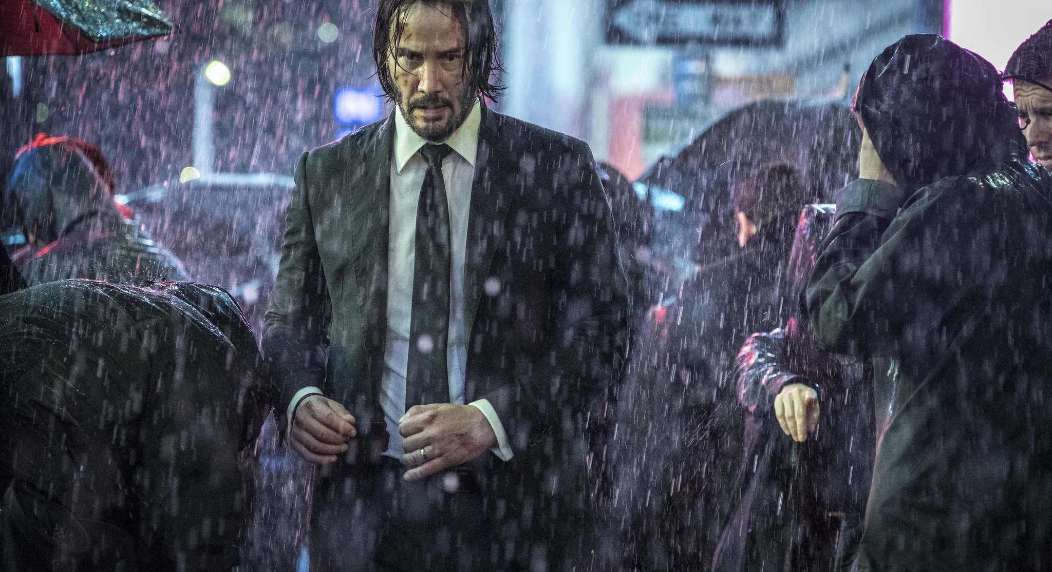 Niko Tavernise / Lionsgate</p><p>Every assassin in the world wants to kill John Wick in the third movie of the action franchise.</p></p>