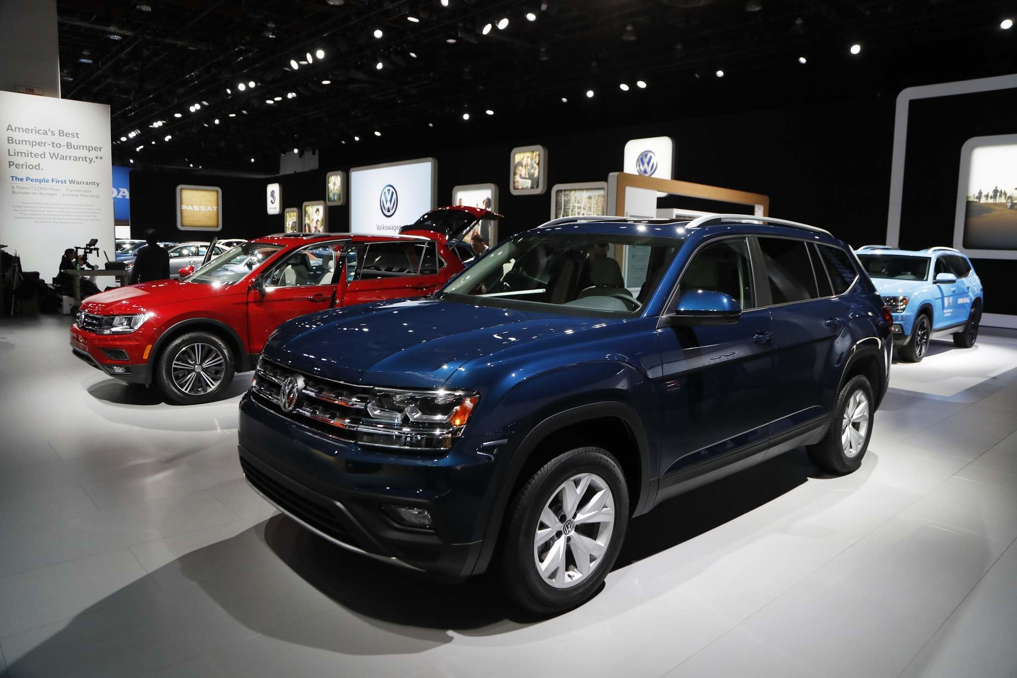 Volkswagen Canada completed an analysis of the Winnipeg market and identified an opening for a third franchise. (Carlos Osorio / The Associated Press files)</p>