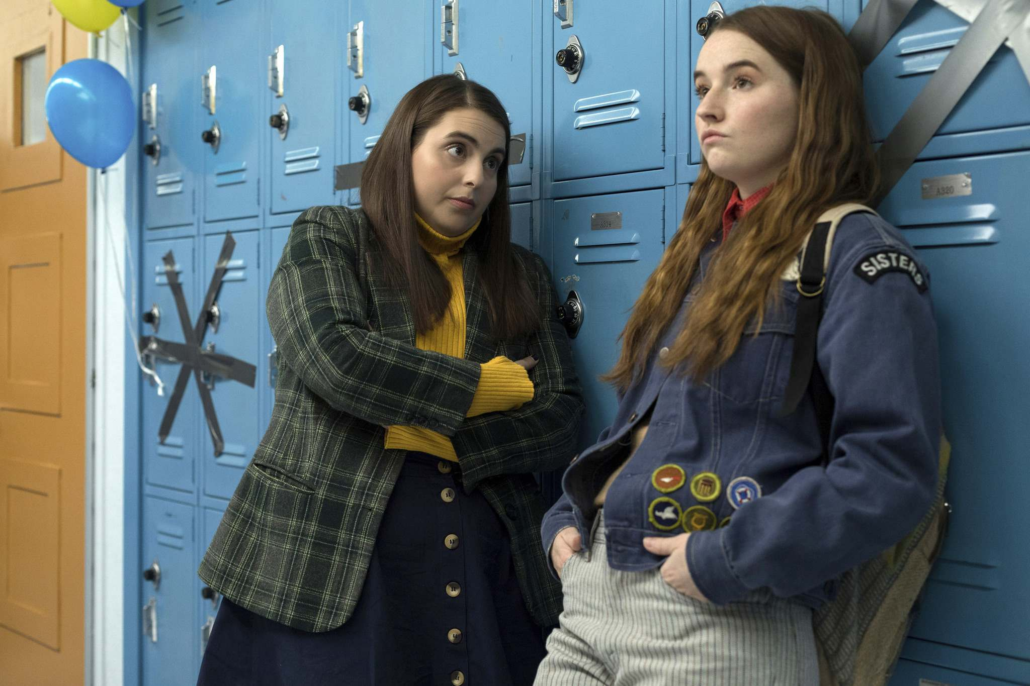 In Booksmart, Beanie Feldstein (left) and Kaitlyn Dever play best friends and academic overachievers Molly and Amy, who are determined to make up for lost time by cramming all their teen experiences into the night before grad. (Francois Duhamel / Annapurna Pictures)