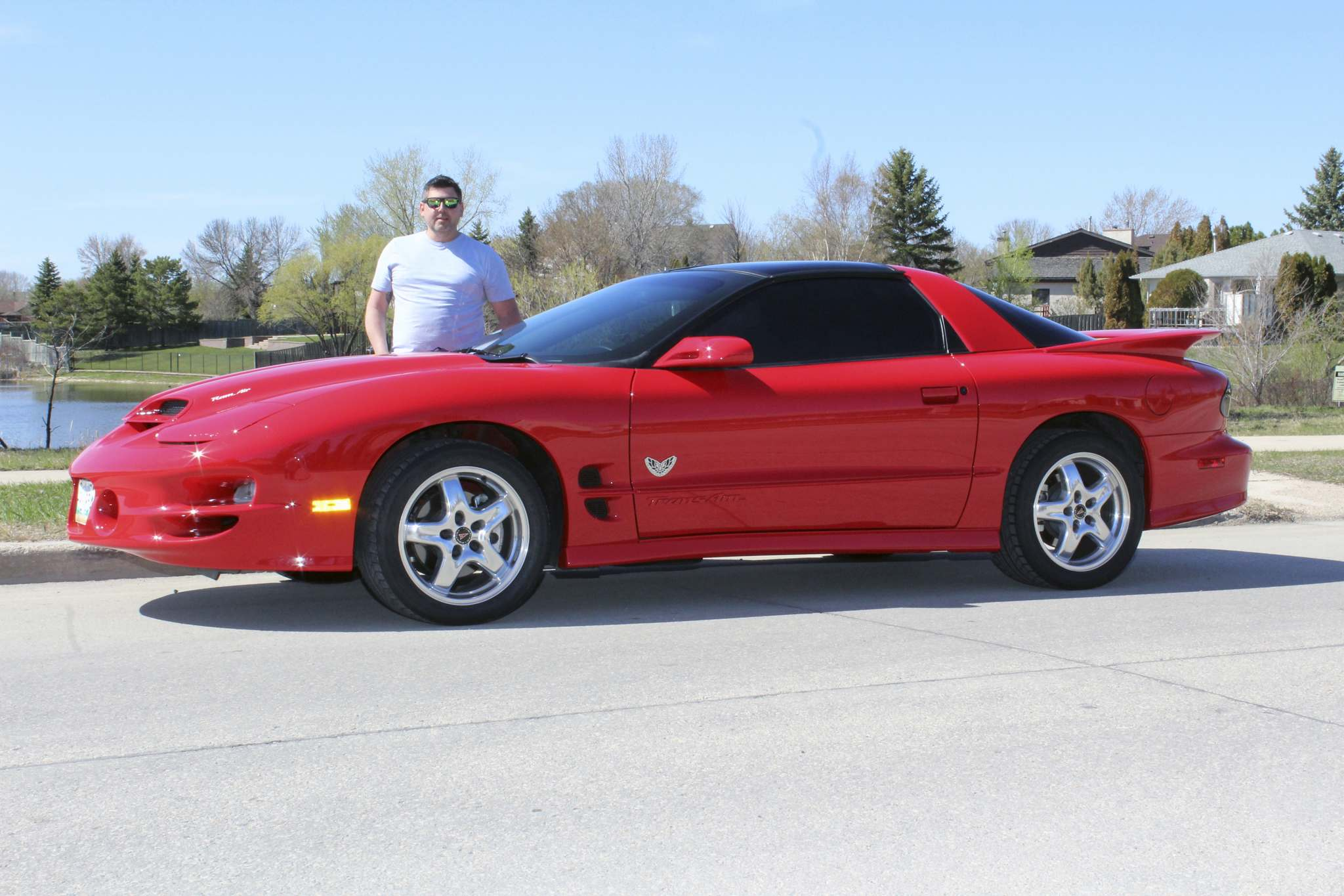 Photos by Larry D'Argis / Winnipeg Free PressDan Labossiere spotted his dream Trans Am while driving past West Perimeter Auto Sales on his way to view a Corvette he was considering buying.