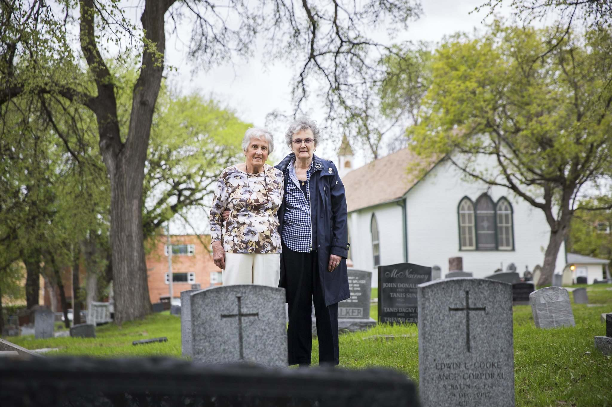 Steele and Gill are planning to create a memorial for the infants that could also be used by families and others who have experienced prenatal loss.