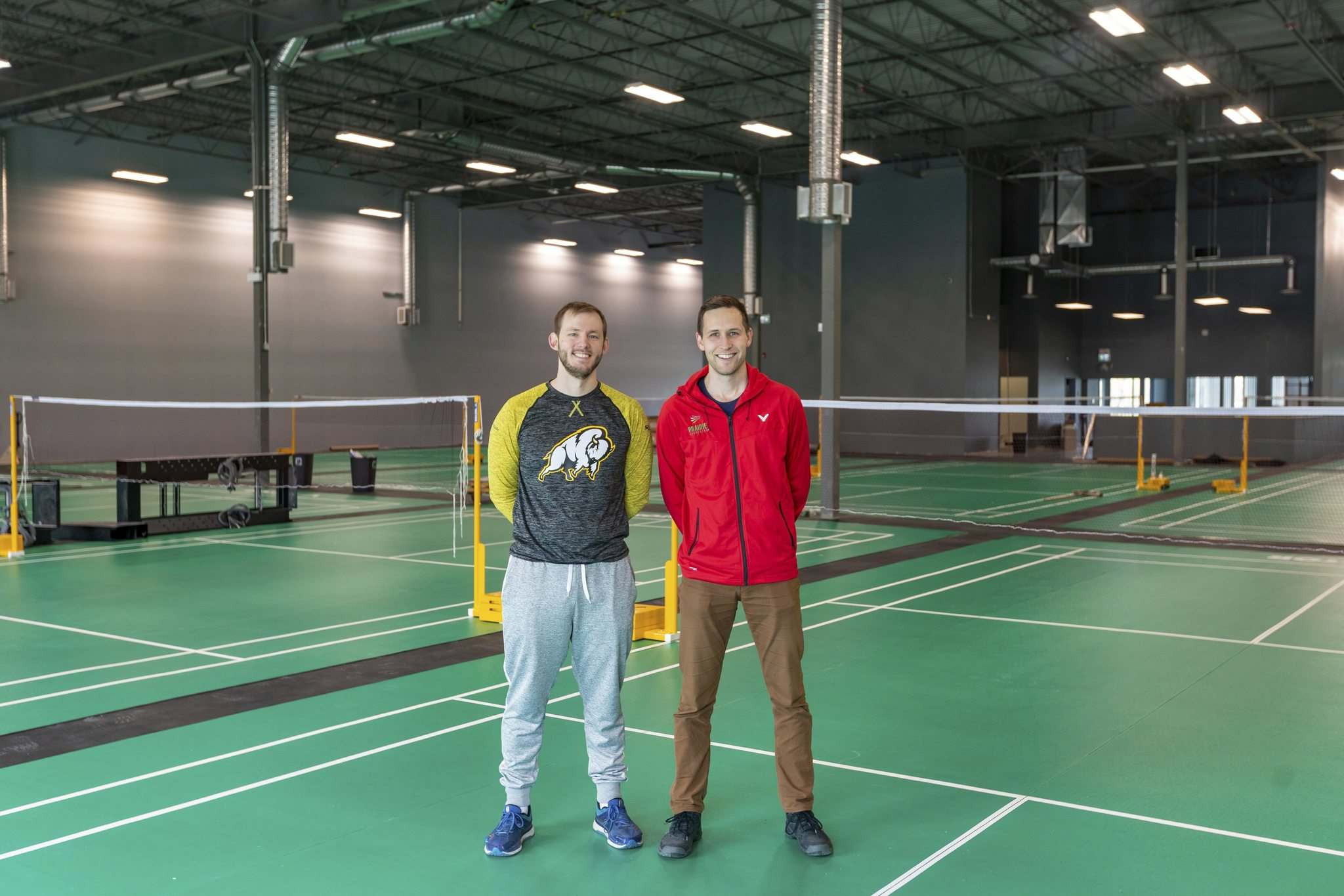 Friesent (left) and Giesbrecht are both nationally certified coaches.