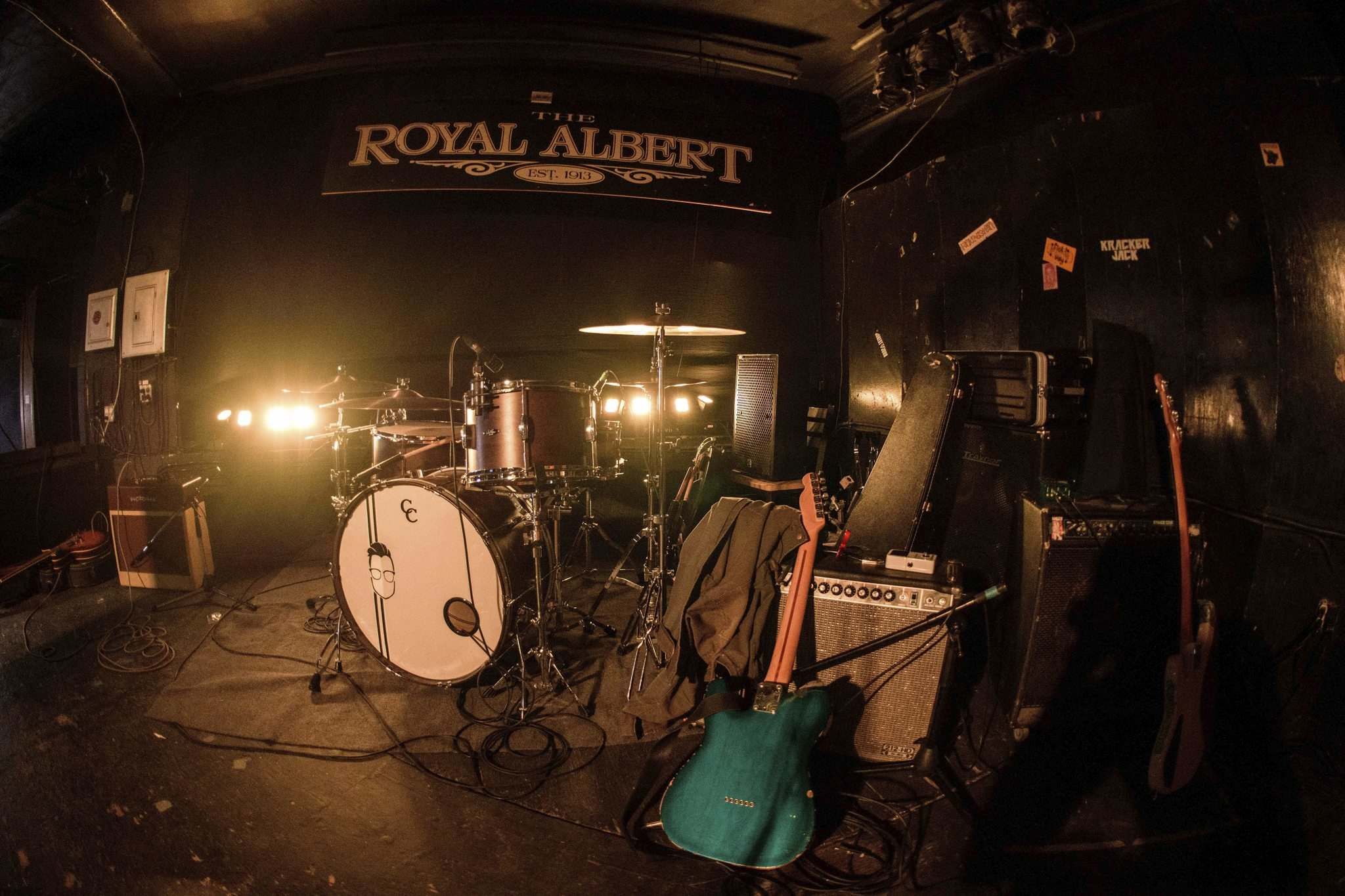 MIKE SUDOMA / WINNIPEG FREE PRESS</p><p>Instruments are at the ready as the Royal Albert prepares to reopen as a music venue Friday.</p>