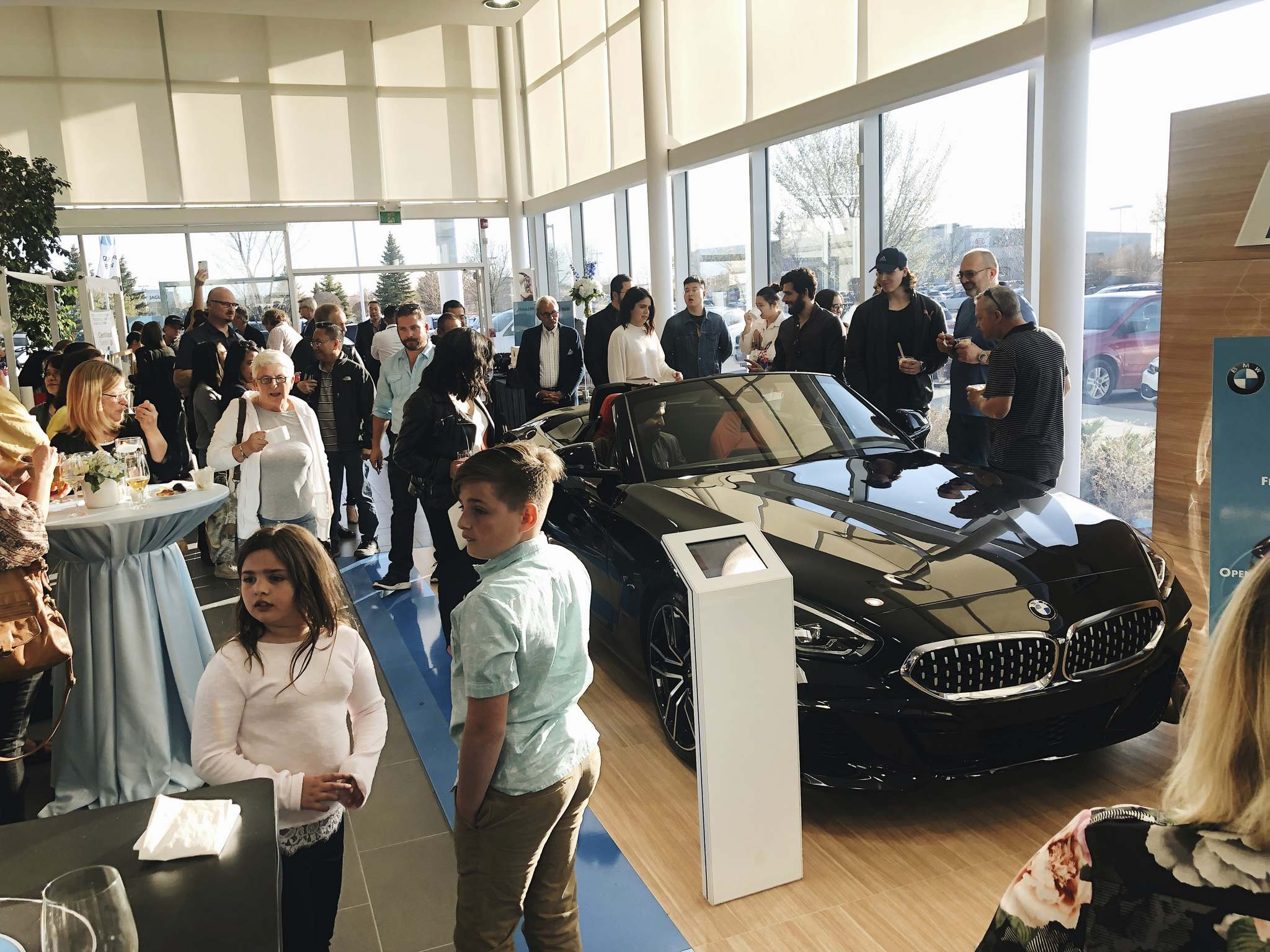 SuppliedBirchwood BMW welcomed more than 200 guests on May 14 to a showcase event featuring three of the company's newest models, including the 2020 BMW X7, M340 and the reborn Z4.