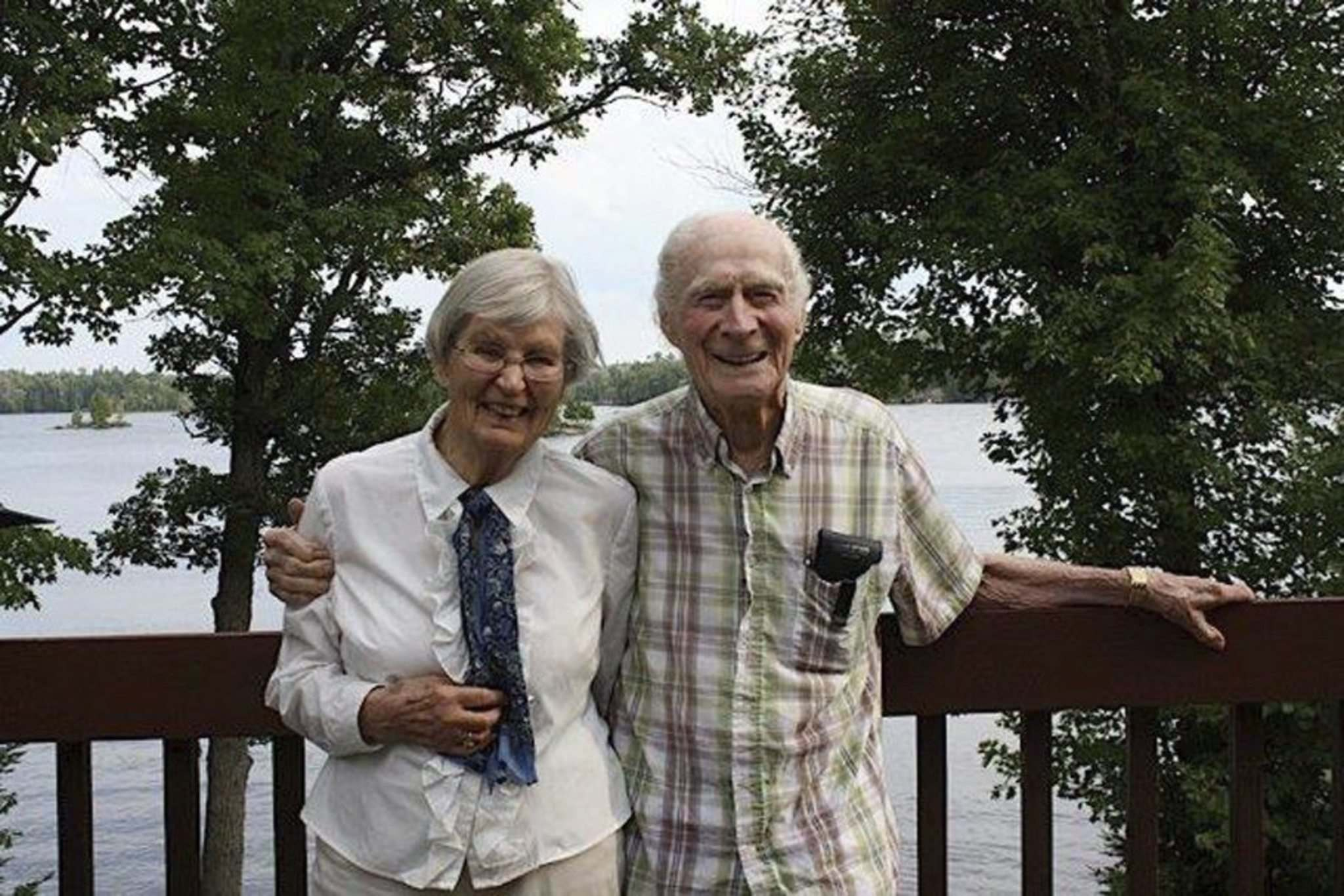 SUPPLIED</p><p>Ferguson and her late husband Bob Ferguson with whom she shared a love of nature and people. Bob died in 2015.</p></p>