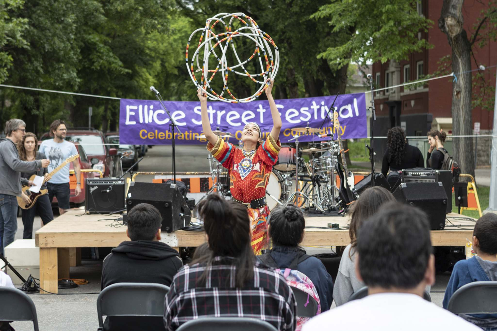 Matt Duboff</p><p>The Ellice Street Festival will feature a diverse musical lineup and a hoop dance performance.</p>