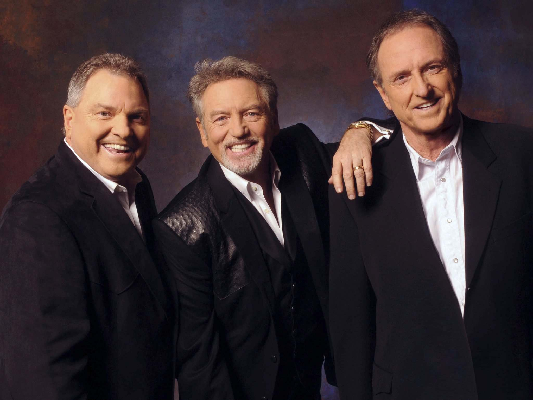 The Gatlin Brothers, Steve (from left), Larry and Rudy, perform at the Club Regent Event Centre on Wednesday, June 12. (Supplied photo)