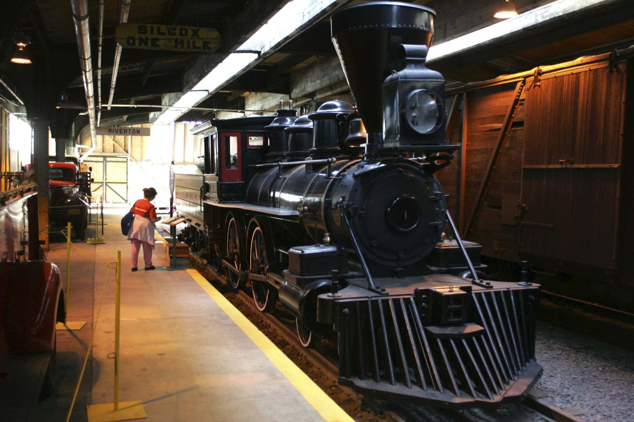 The Countess of Dufferin is one of the centrepieces of the Railway Museum. (Boris Minkevich / Winnipeg Free Press files)</p>