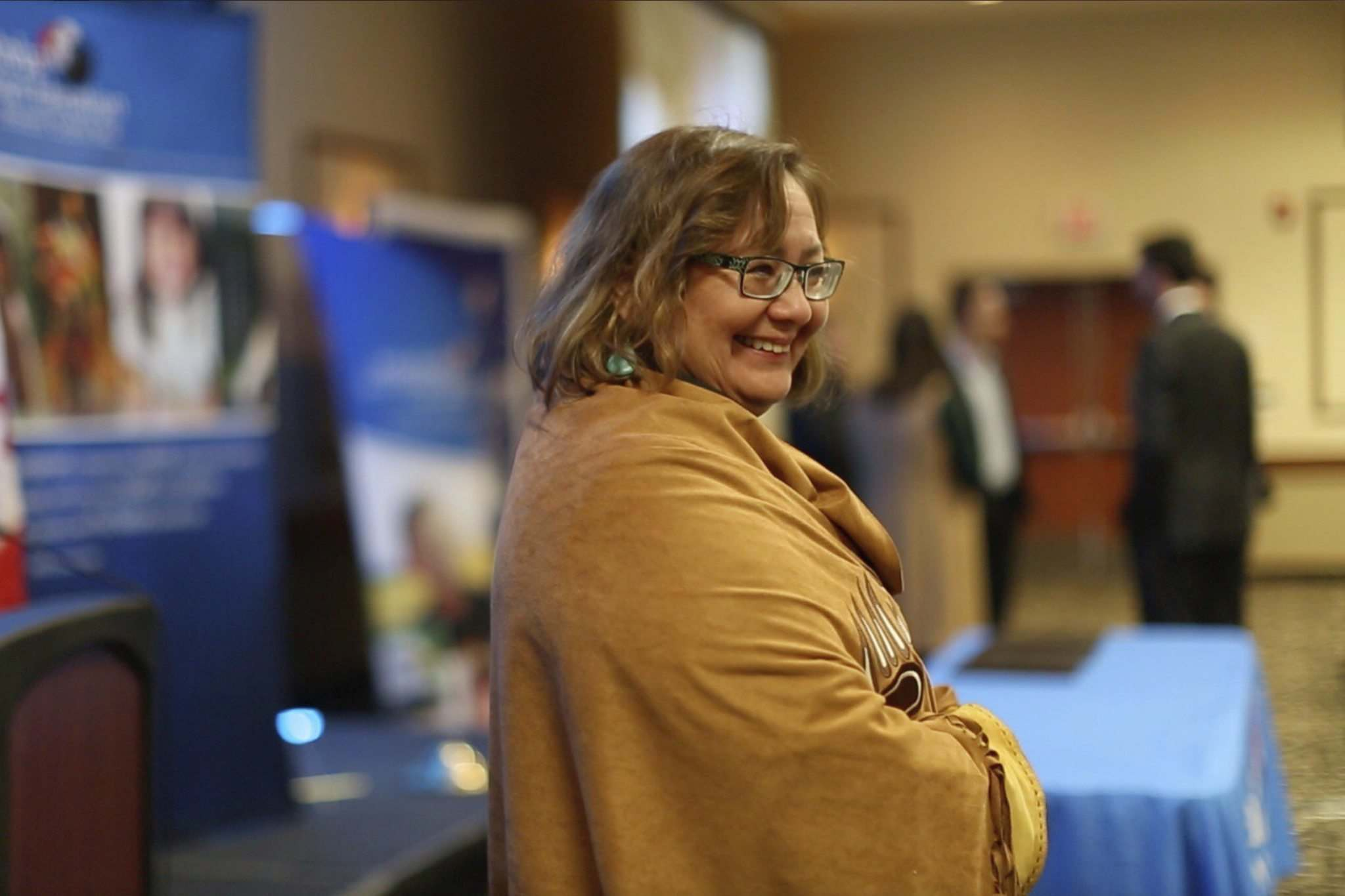 SUPPLIED</p><p>Shirley Fontaine, seen here at last year's Manitoba First Nations Education Resource Centre conference, died of a brain aneurysm in April. The mother of four was one of this province's best-known architects on First Nations education and sovereignty.</p></p>