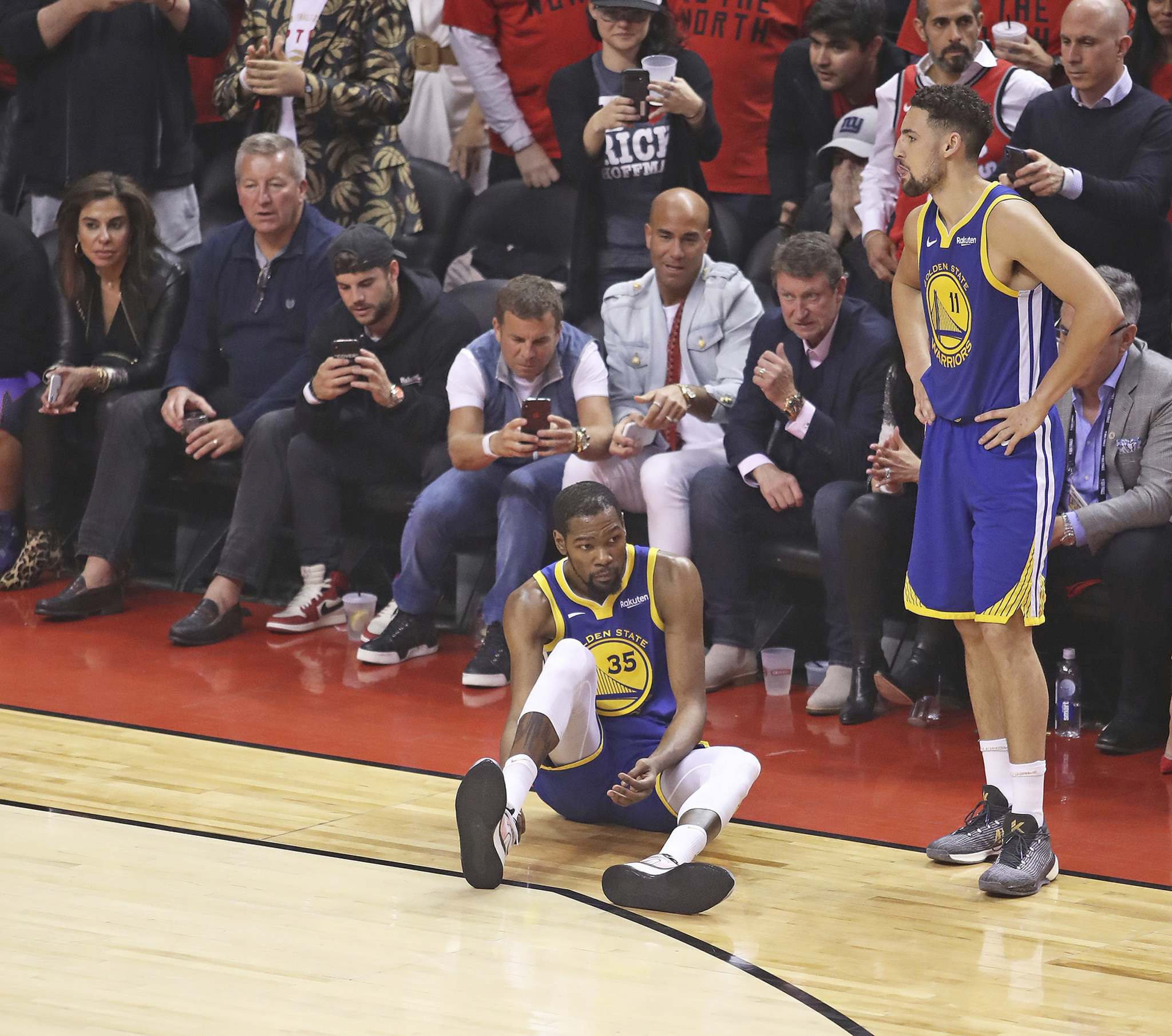 Now, both Durant's short- and long-term future are a question mark. (Claus Andersen / Getty Images / TNS)