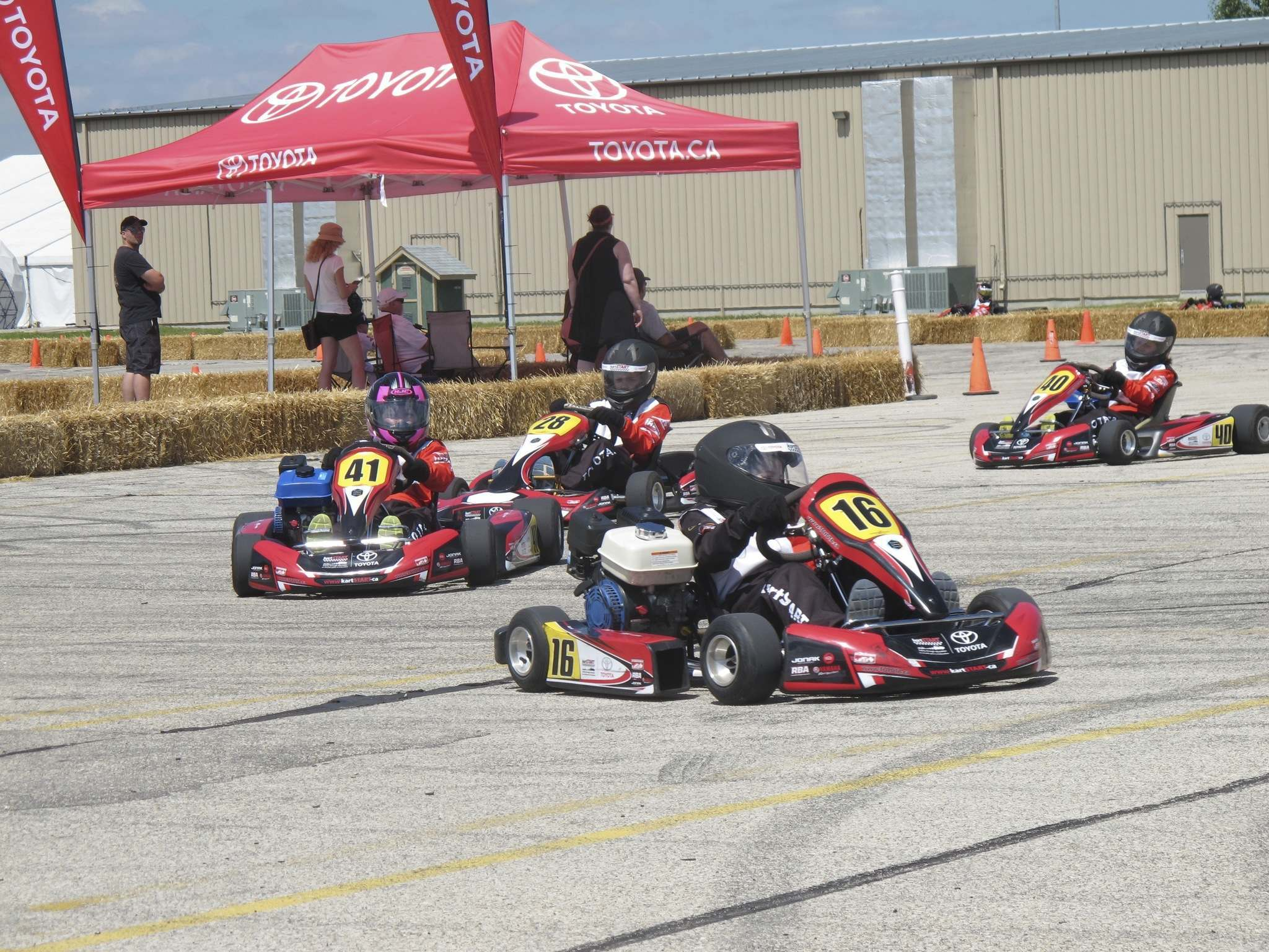 Willy Williamson / Winnipeg Free Press files The popular kartSTART learn-to-drive program is returning for more laps around the Red River Exhibition grounds. The Toyota-sponsored program provides kids 10 and older with driving experience in go-karts.