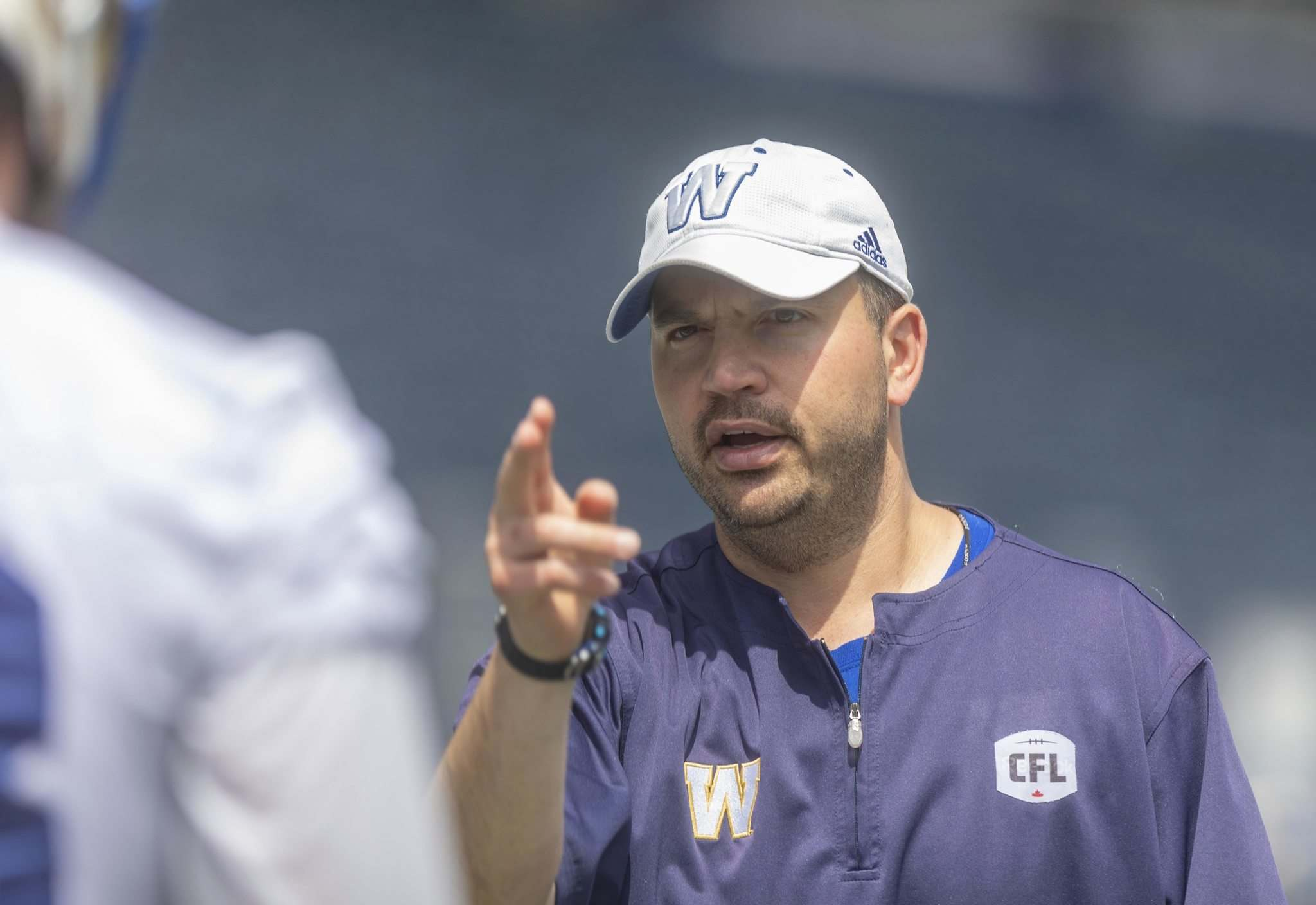 'We've got our work cut out for us': Bombers O-line coach