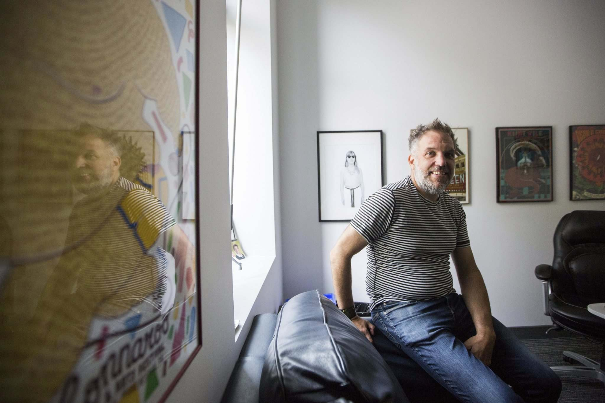 Chris Frayer's career as an artistic director has become a creative outlet and a major part of his identity. (Mikaela MacKenzie / Winnipeg Free Press)