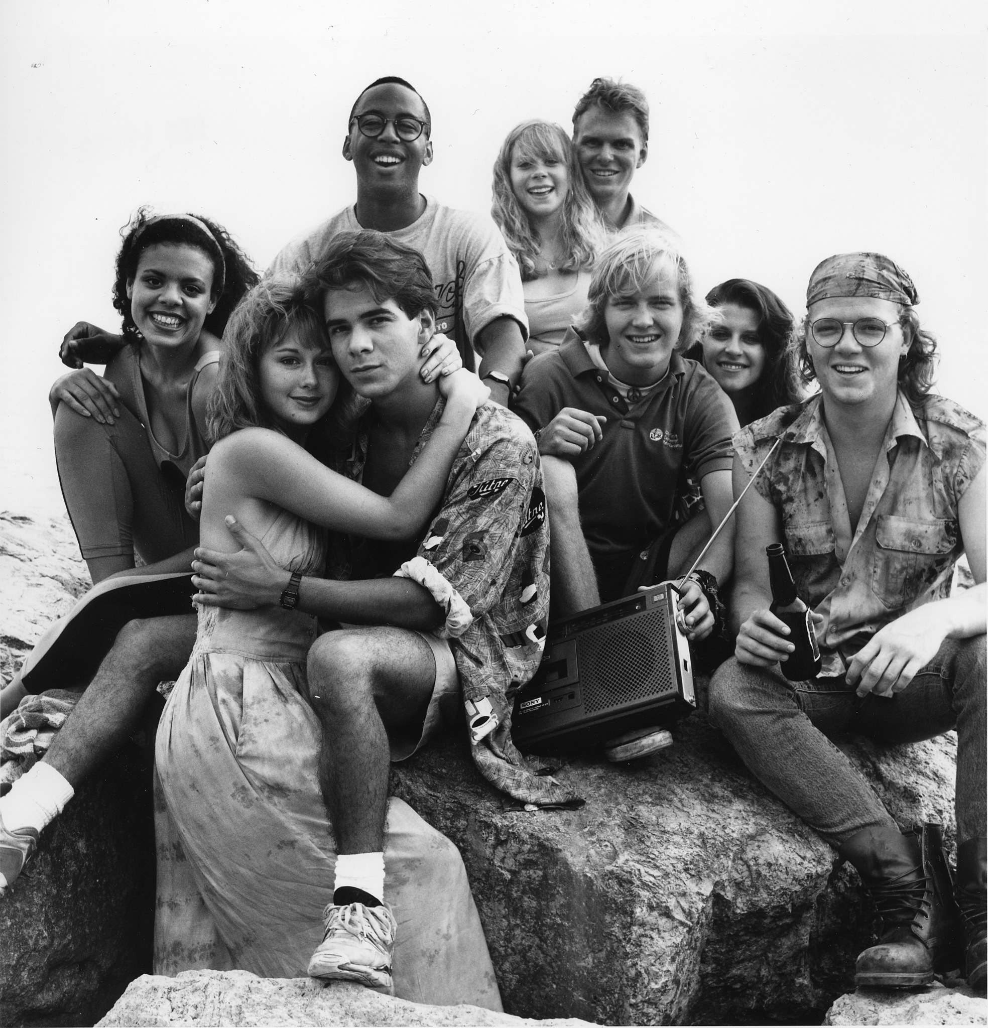 Winnipeg Free Press files</p><p>Degrassi High, School's Out featured featured (from left): Anais Granofsky (Lucy), Stacie Mistysysn (Caitlin), Pat Mastroianni (Joey), Dean Ifil (Bronco), Kirsty Bourne (Tessa), Stefan Brogren (Snake), Mike Carry (Simon), Irene Courakos (Alexa) and Neil Hope (Wheels).