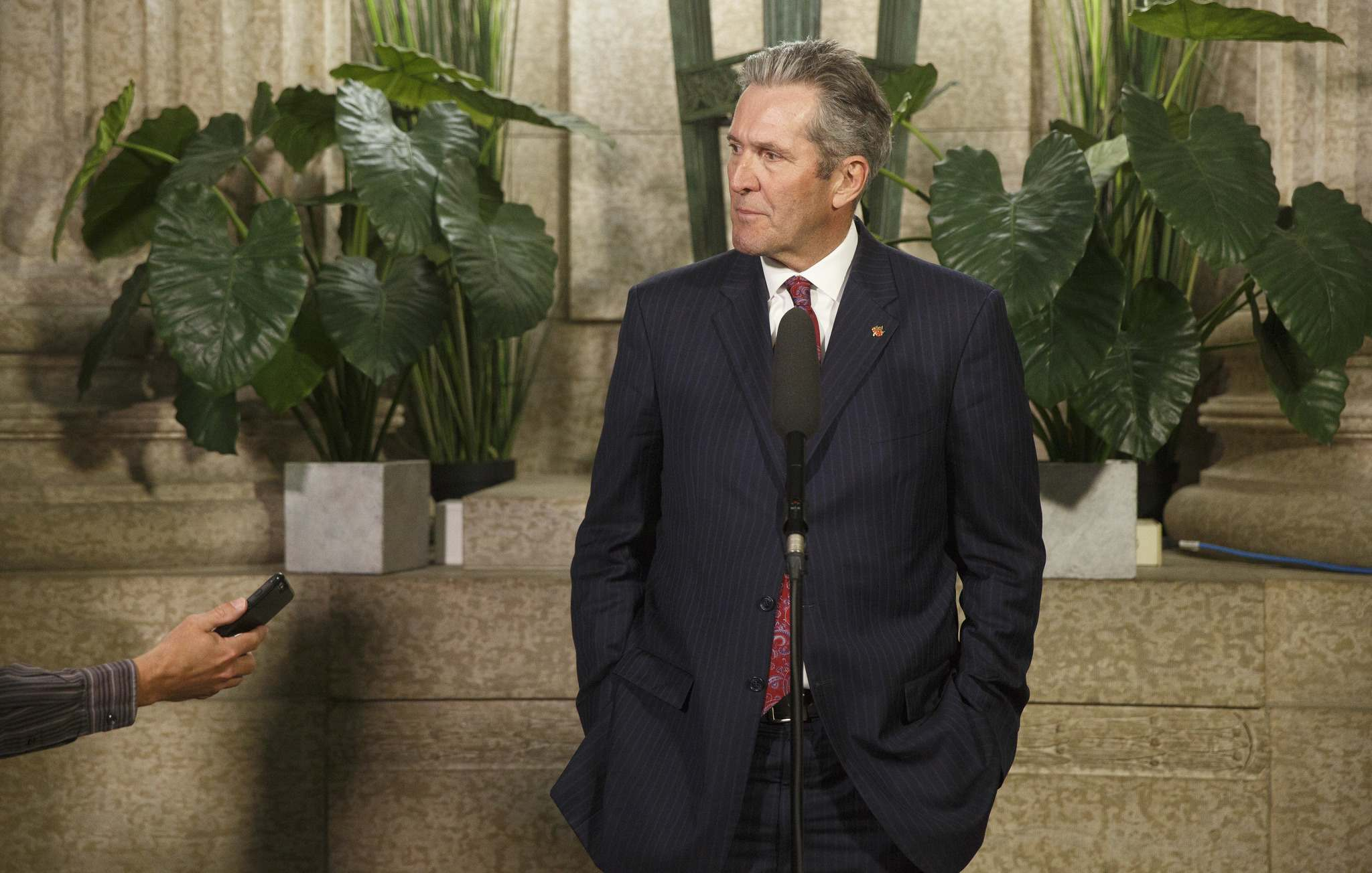 It has been a non-stop torrent of tough love for the unions from Premier Brian Pallister. (Mike Deal / Free Press files)