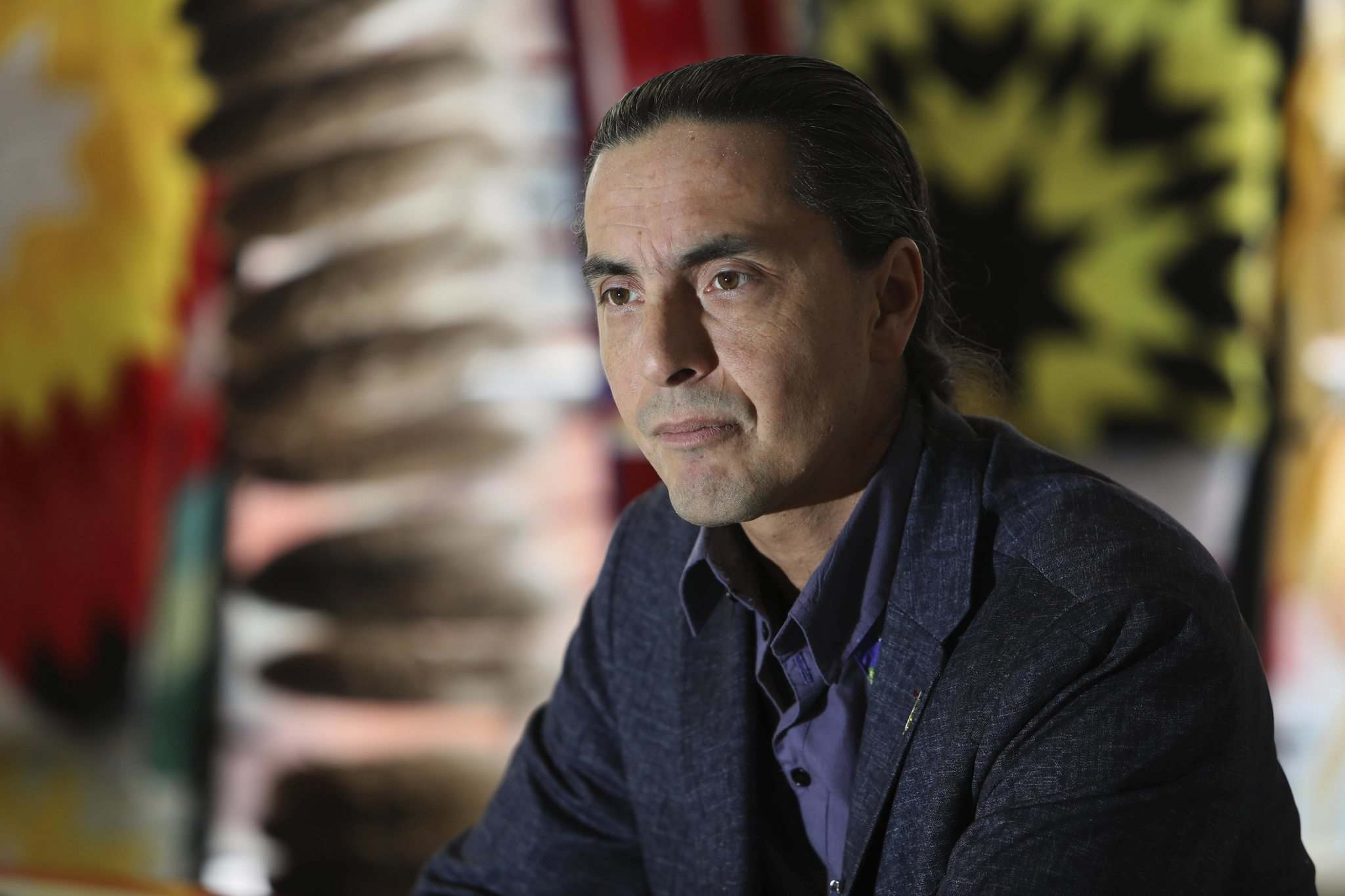 The women's council of the Assembly of Manitoba Chiefs has ceased investigating Grand Chief Arlen Dumas. (Ruth Bonneville / Free Press files)</p>