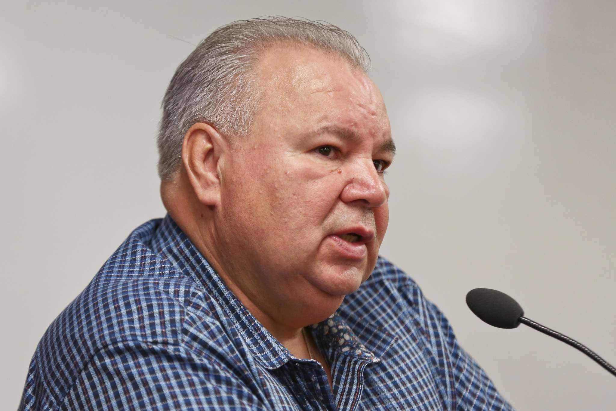 """MIKE DEAL / WINNIPEG FREE PRESS</p><p>""""You can't just cancel agreements after the fact,"""" Manitoba Metis Federation president David Chartrand said. """"If that's the case, every First Nation in the country, every industry must be paranoid.""""</p>"""