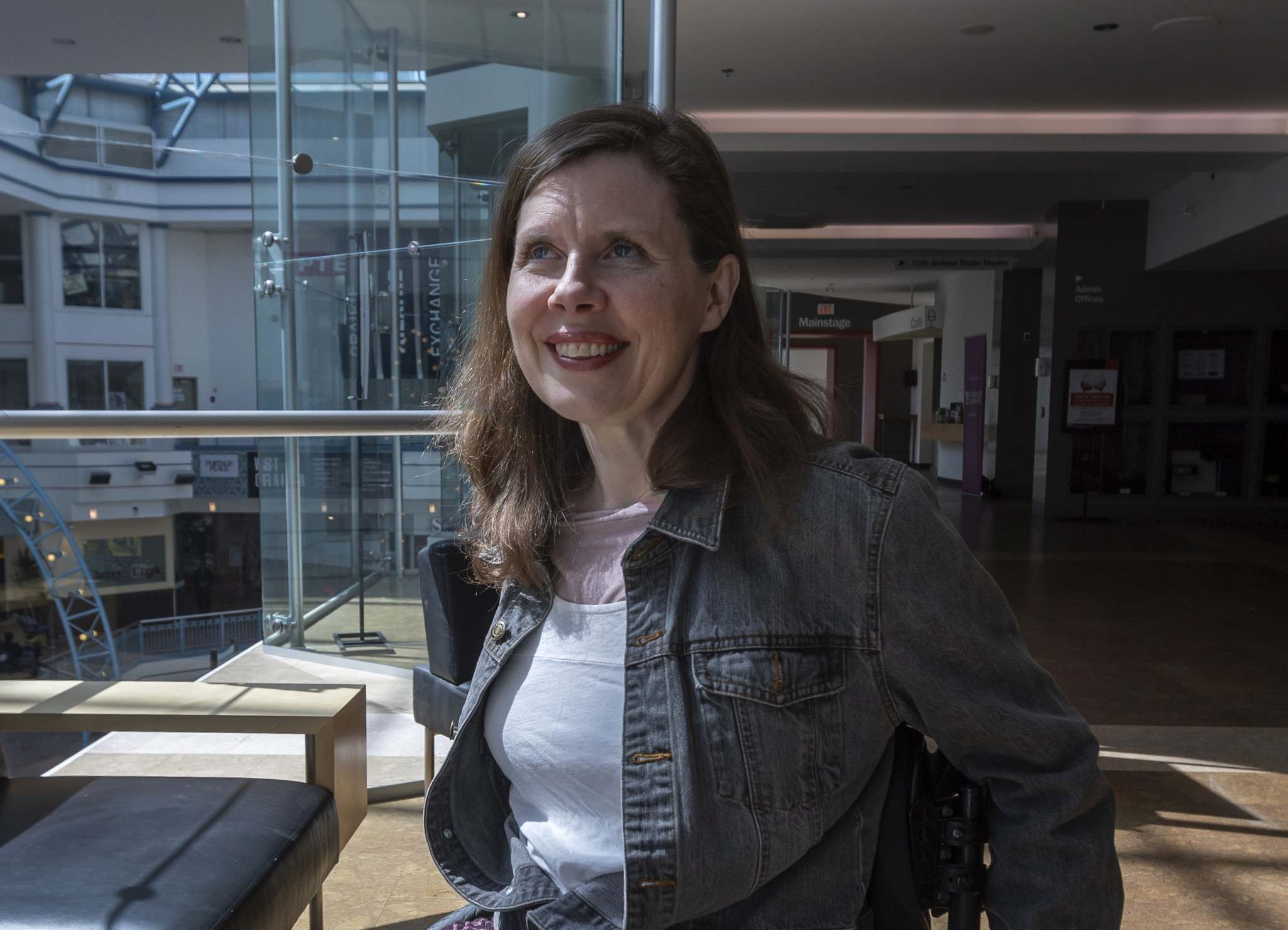 SASHA SEFTER / WINNIPEG FREE PRESS</p><p>Playwright/actor/director Debbie Patterson, who lives with multiple sclerosis, has become a driving force in disability theatre.</p>