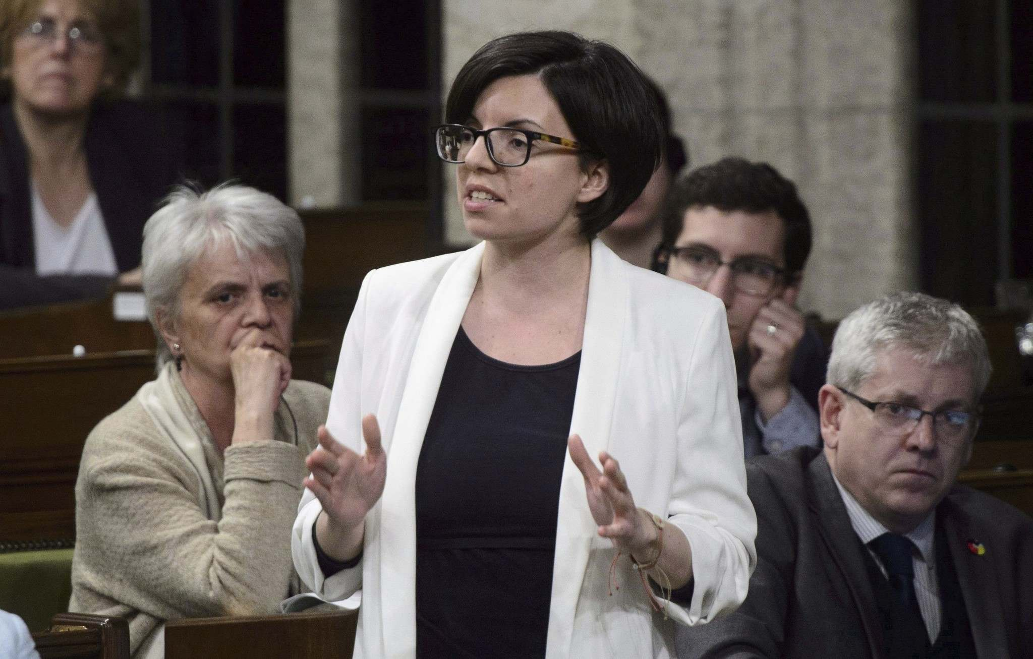 """Niki Ashton argues May's proposal """"opens the door to privatizing water,"""" comparing it to Omnitrax's management of Churchill's port and railway, as well as plans surrounding LifeFlight air ambulances. (Sean Kilpatrick / Canadian Press files)</p>"""