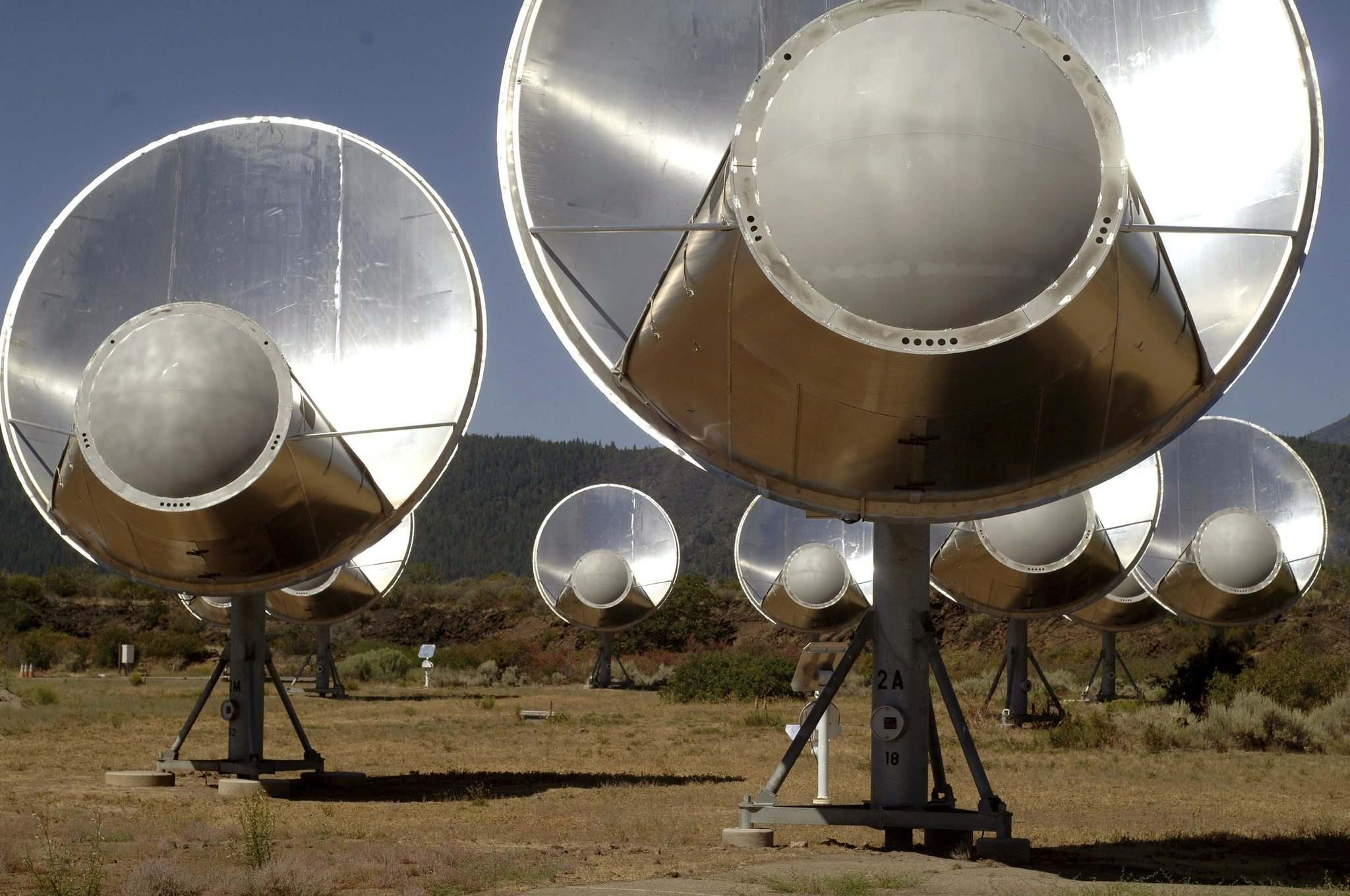 Seth Shostak / SETI Institute</p><p>In 2007, the SETI Institute announced it would use an array of telescopes in northern California to search more than a million stars for artificial radio or laser signals.</p>