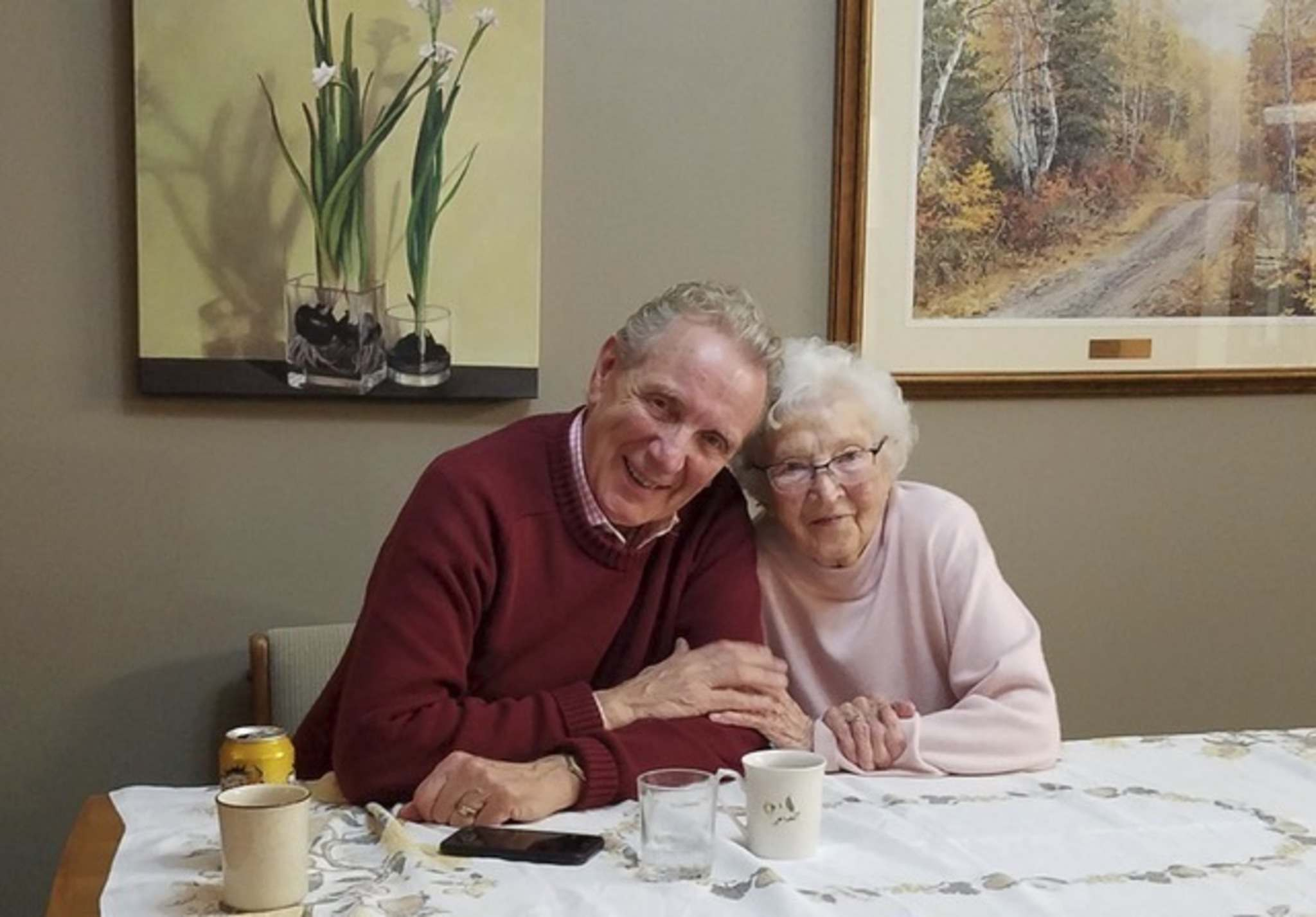 """Supplied</p><p>Linie Friesen and her son Eric. Linie was known for being hospitable and cheerful. """"There was an elegance, a generosity, and yet a downhomeness,"""" says longtime friend Lori Hiebert.</p></p>"""