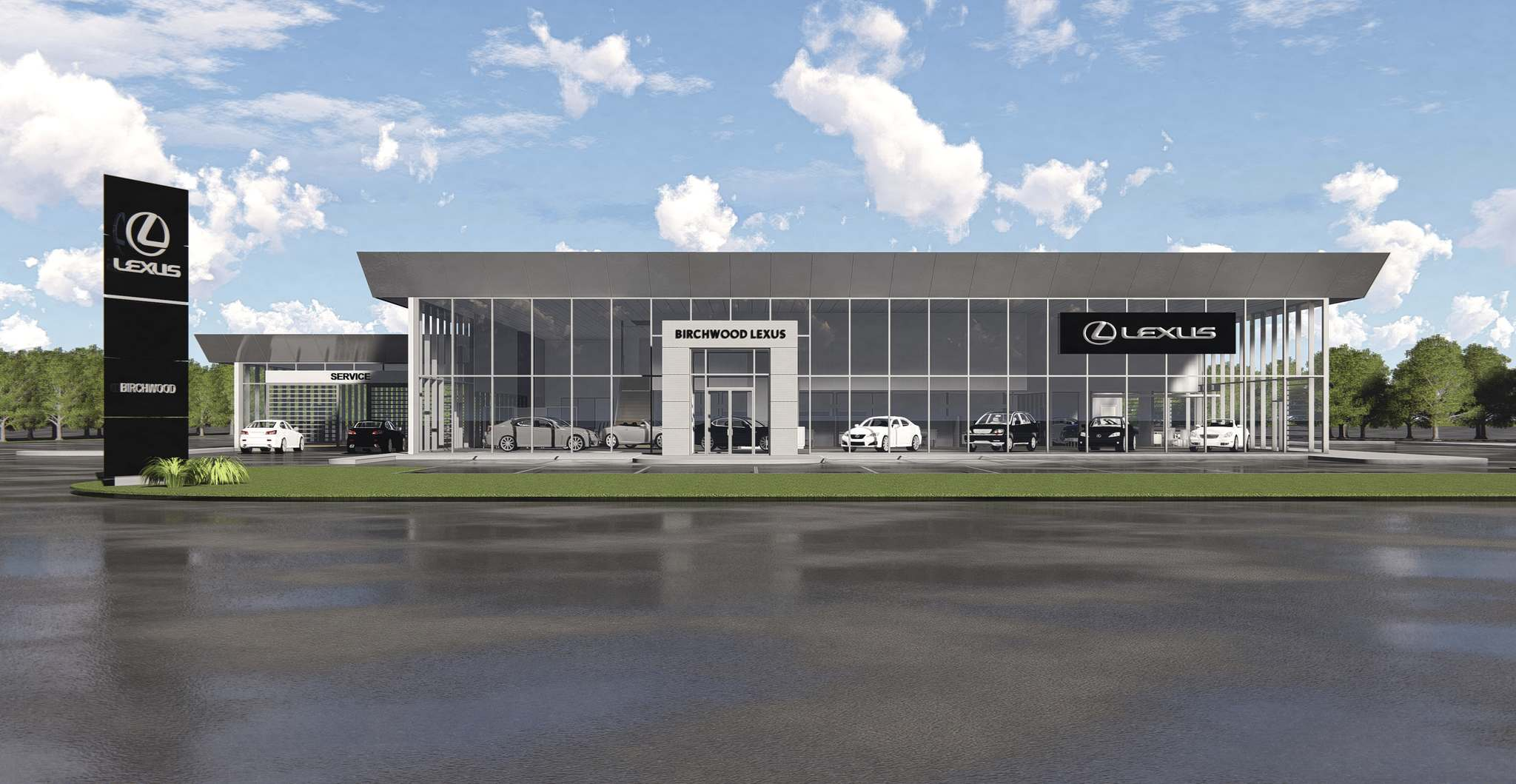 Supplied The new Birchwood Lexus on Kenaston will be completed in spring of 2020.