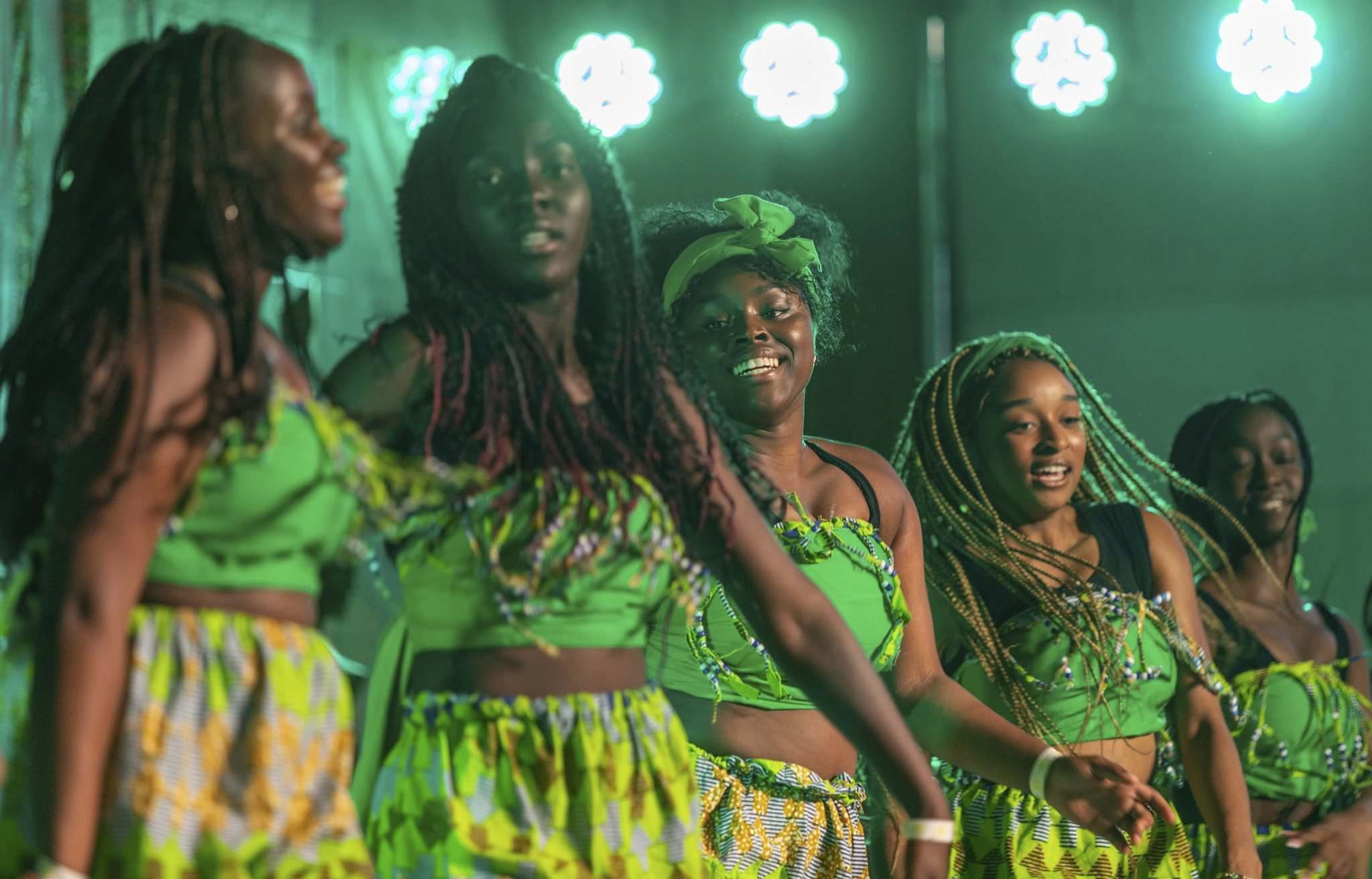 SASHA SEFTER / WINNIPEG FREE PRESS files</p><p>Performers take the stage at Folklorama's Africa pavilion at the Holy Cross Gym in St. Boniface on Aug. 4.</p>