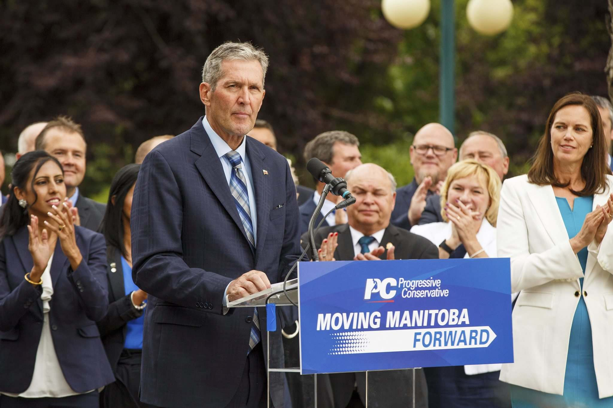 In a province that has always rewarded the slow and steady, Pallister is arguably the most aggressive and least patient premier in its history. (Mike Deal / Winnipeg Free Press)