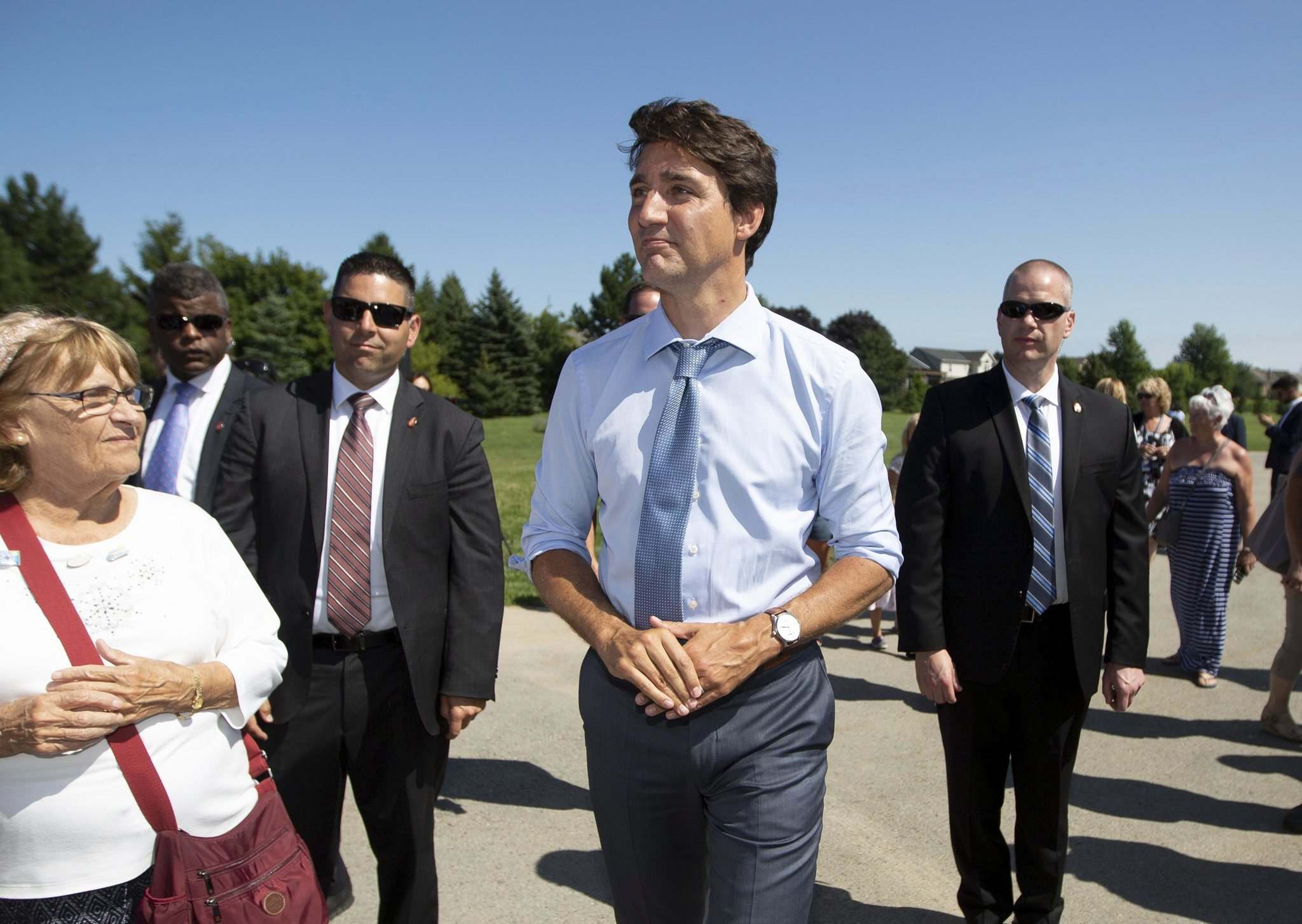 Prime Minister Justin Trudeau probably thought the issue had run its course and the scandal was finally behind him. (Peter Power / The Canadian Press files)