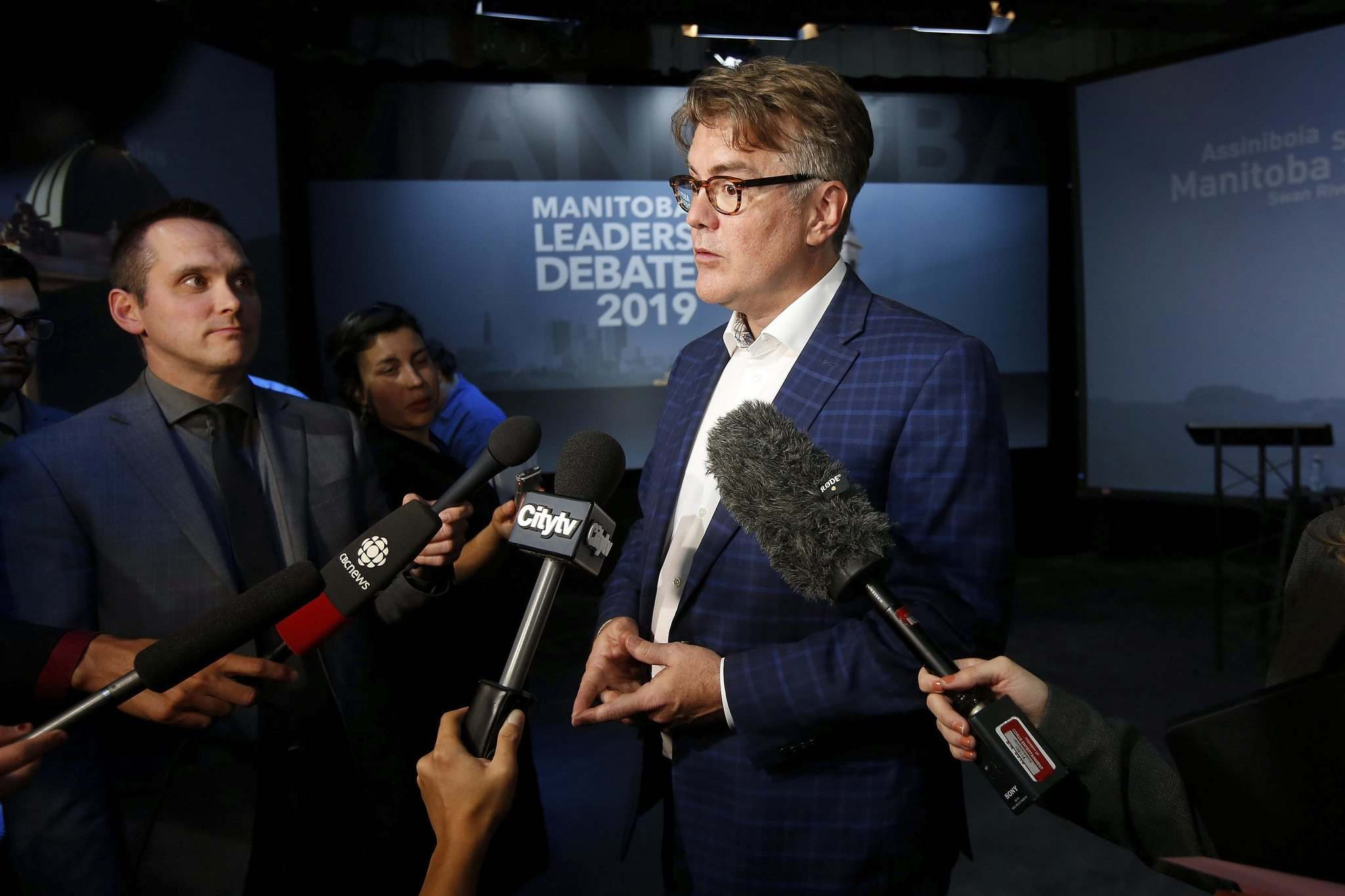 JOHN WOODS / THE CANADIAN PRESS</p><p>Liberal Party of Manitoba Leader Dougald Lamont </p></p>