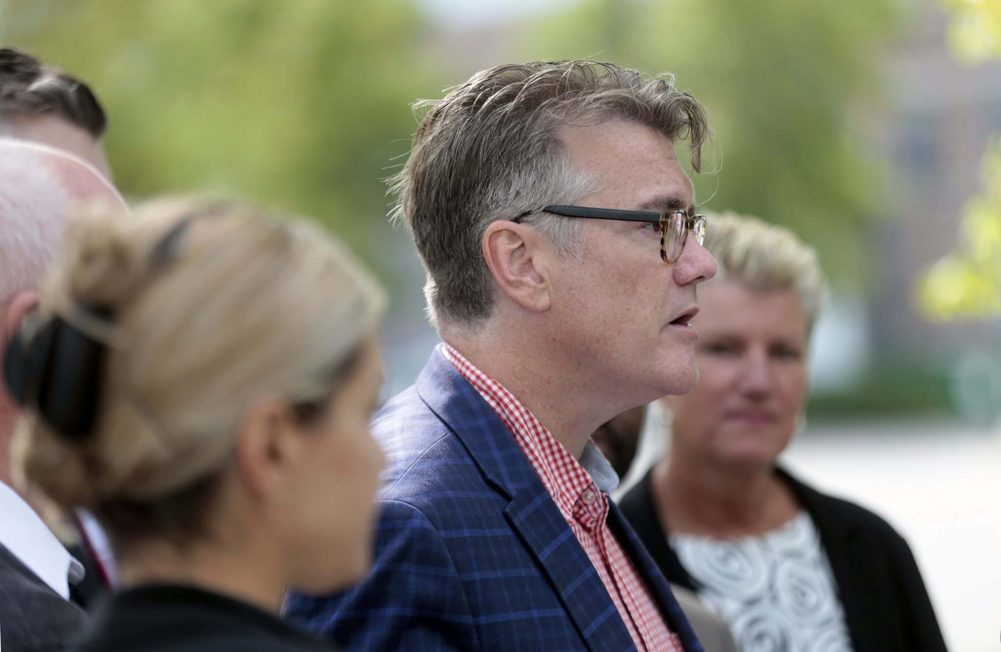 PHIL HOSSACK / WINNIPEG FREE PRESS</p><p>Liberal Leader Dougald Lamont said his party would increase enforcement of workplace health and safety issues.</p></p>